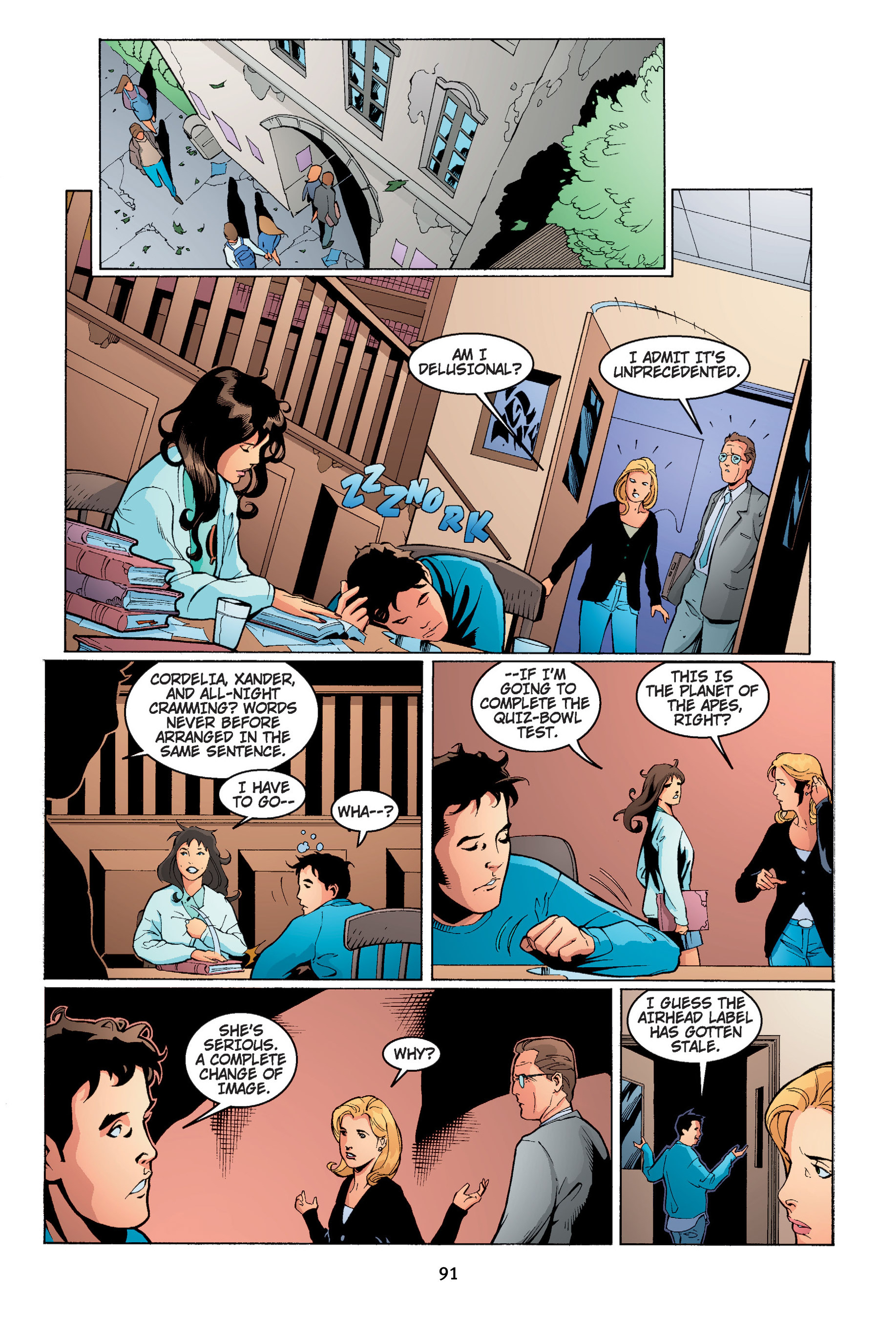 Read online Buffy the Vampire Slayer: Omnibus comic -  Issue # TPB 4 - 92