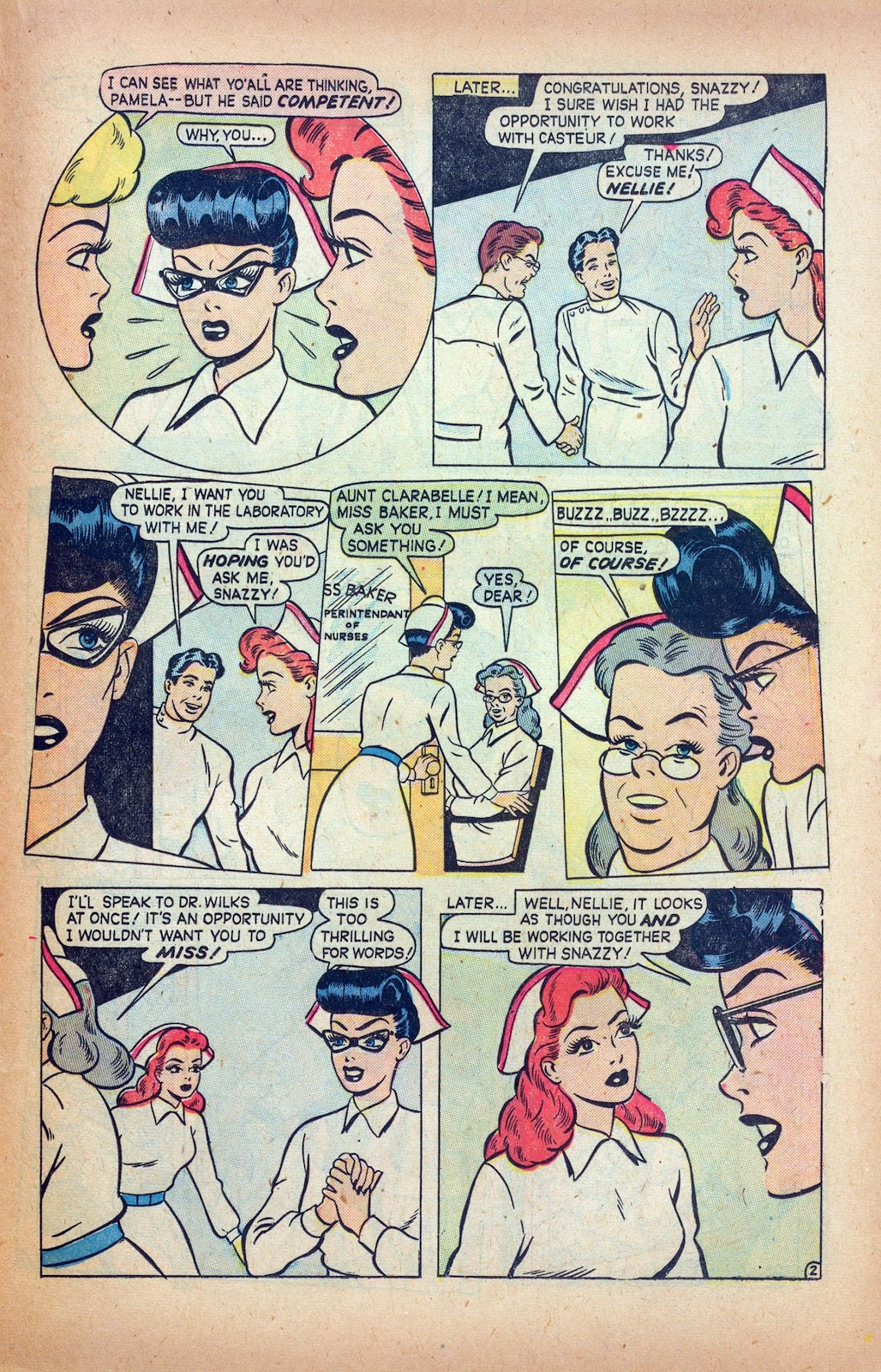 Read online Nellie The Nurse (1945) comic -  Issue #24 - 23
