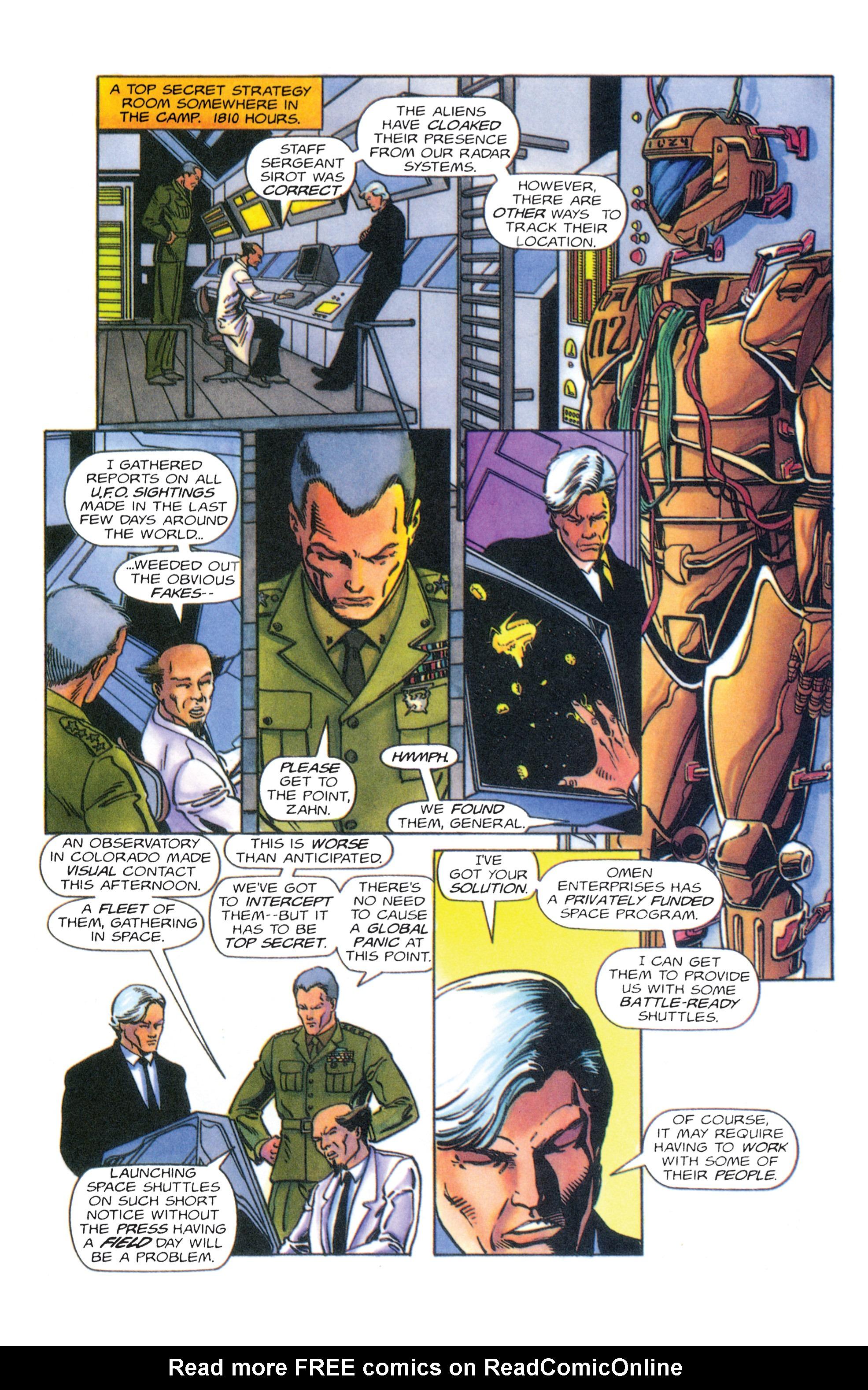 Read online Armorines comic -  Issue #4 - 14