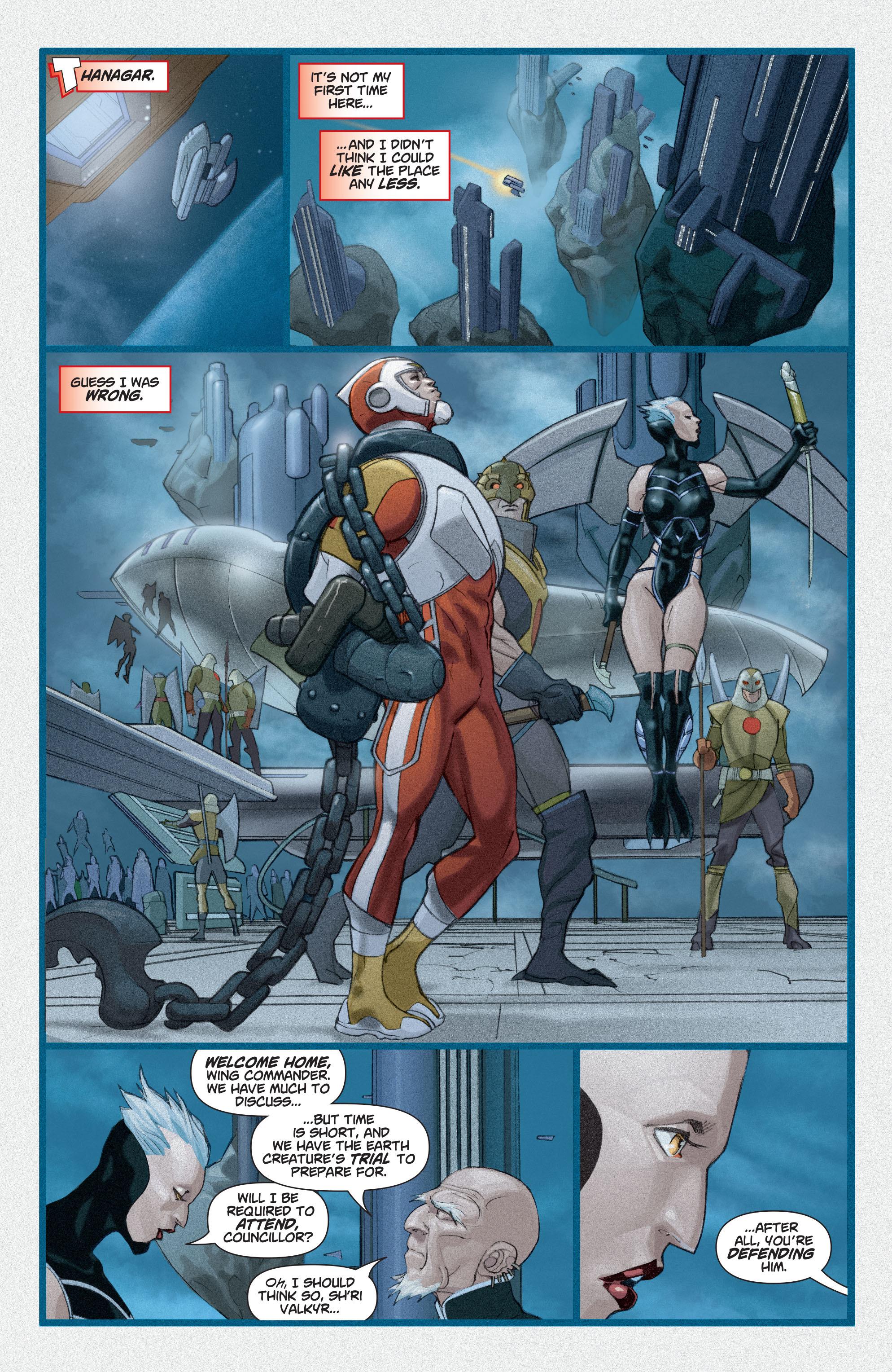 Read online Adam Strange (2004) comic -  Issue #3 - 16