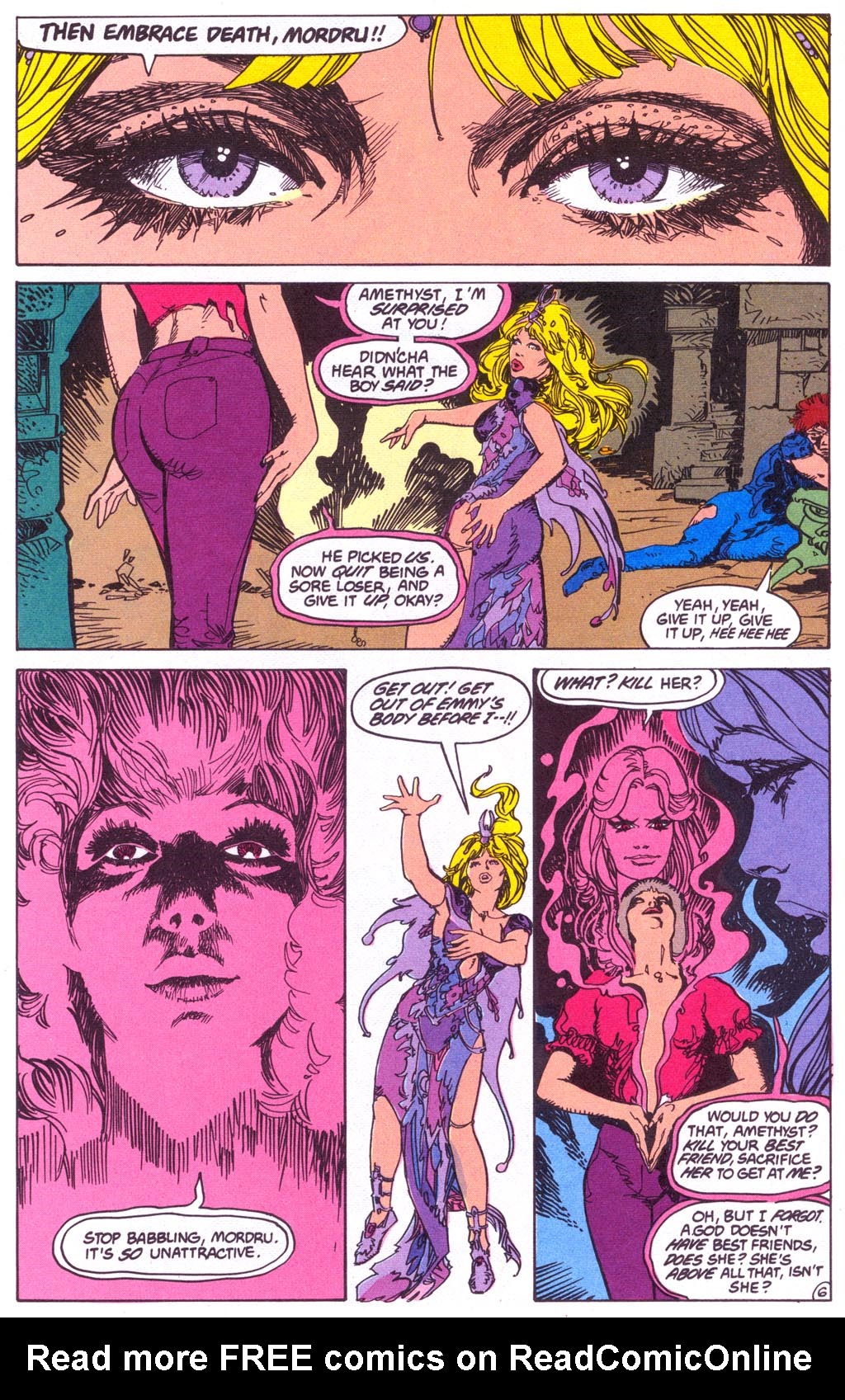 Read online Amethyst (1987) comic -  Issue #3 - 8