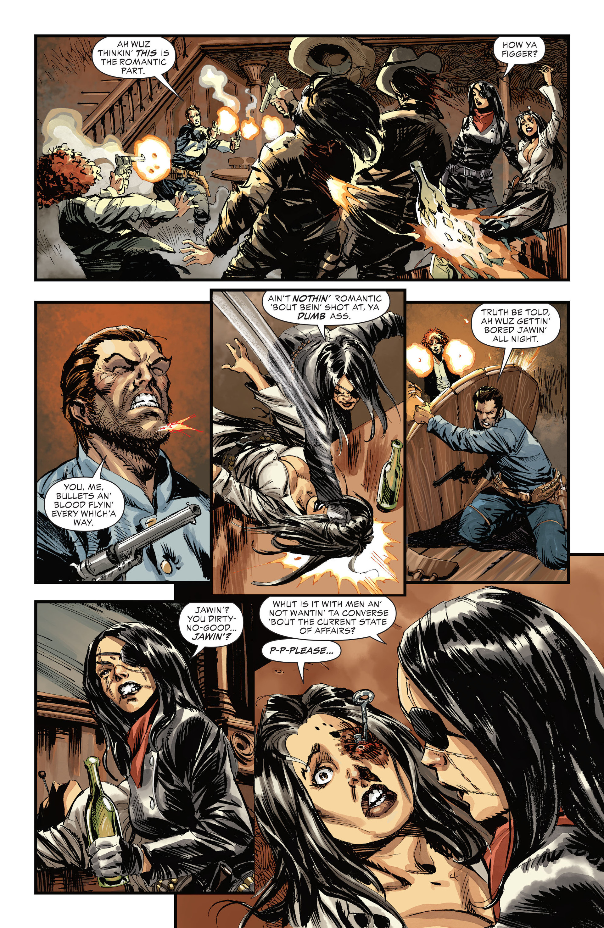 Read online All-Star Western (2011) comic -  Issue #31 - 5