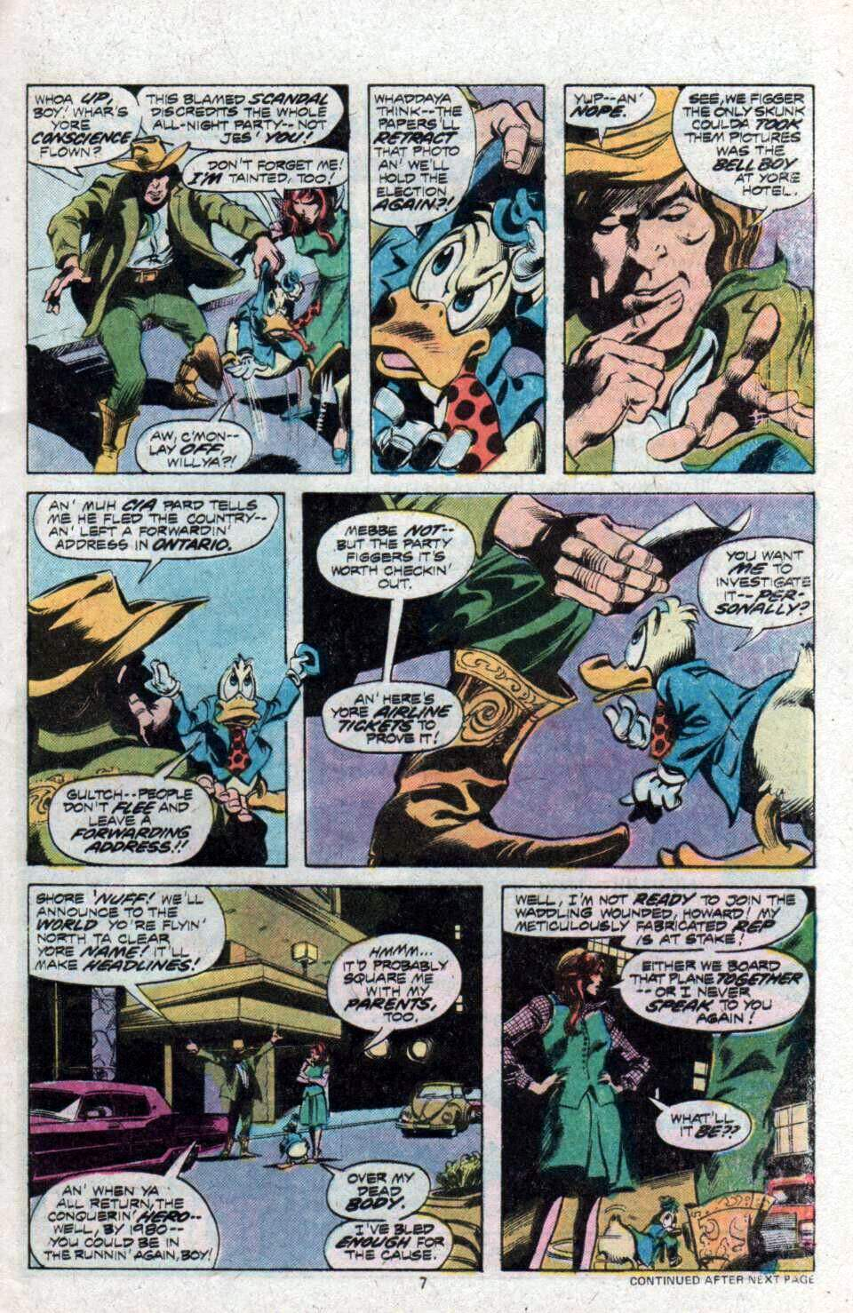 Howard the Duck (1976) Issue #9 #10 - English 6