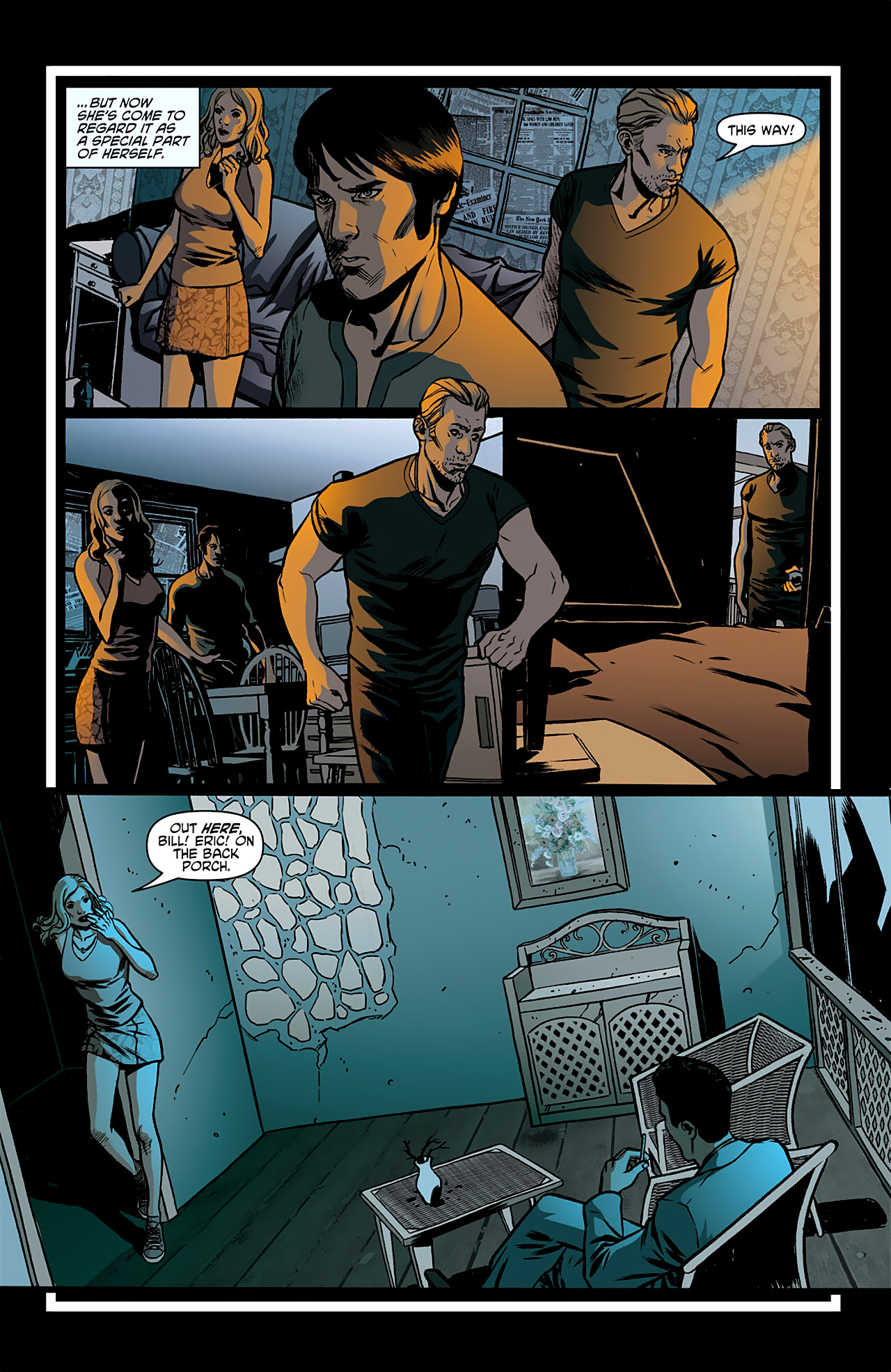 Read online True Blood: French Quarter comic -  Issue #1 - 23