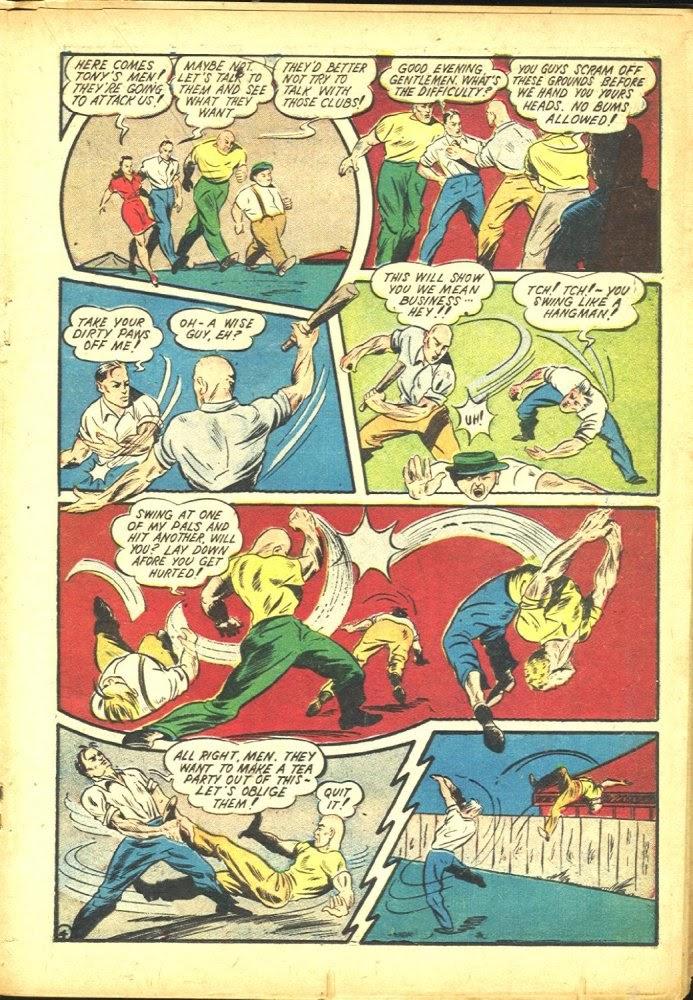 Read online Amazing Man Comics comic -  Issue #25 - 35