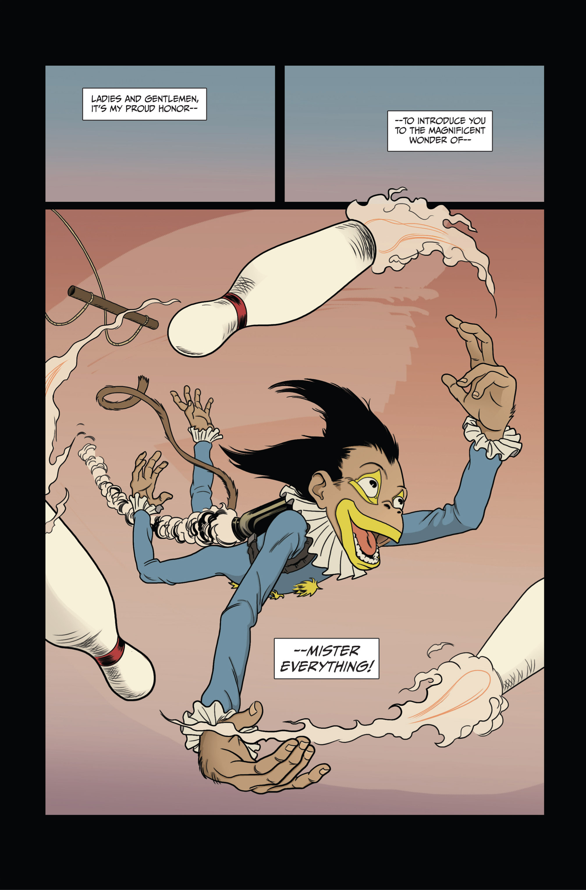 Read online Ehmm Theory: Everything & Small Doses comic -  Issue #3 - 3