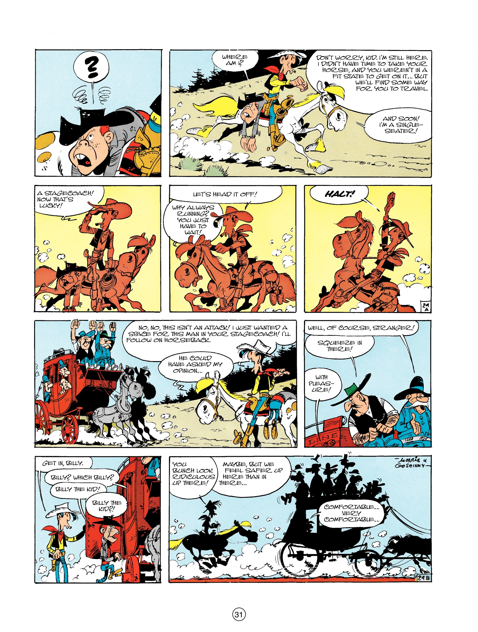 Read online A Lucky Luke Adventure comic -  Issue #18 - 31
