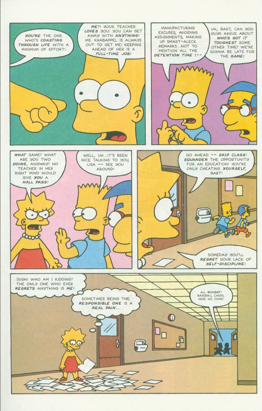 Read online Simpsons Comics comic -  Issue #4 - 7