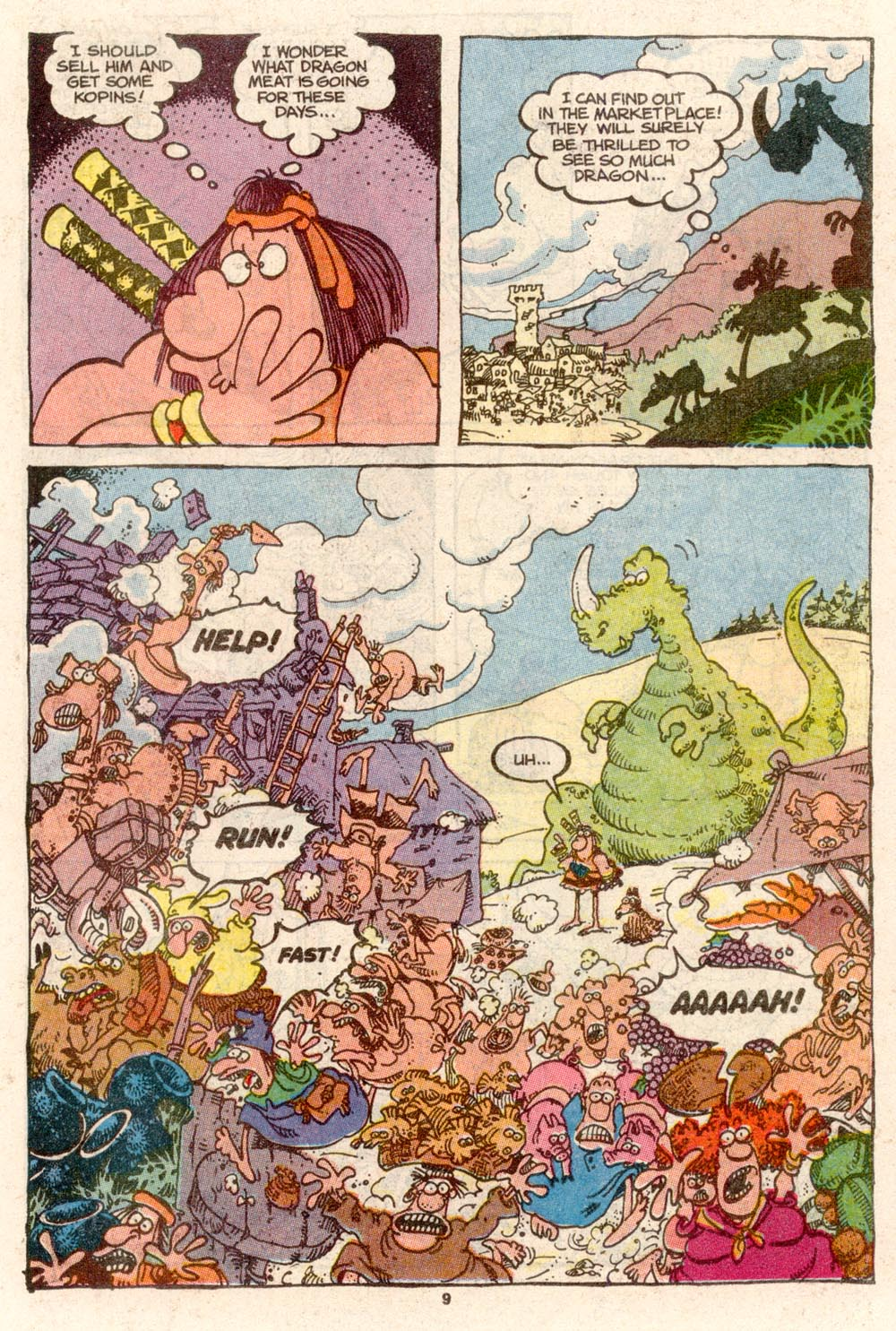 Read online Sergio Aragonés Groo the Wanderer comic -  Issue #68 - 7