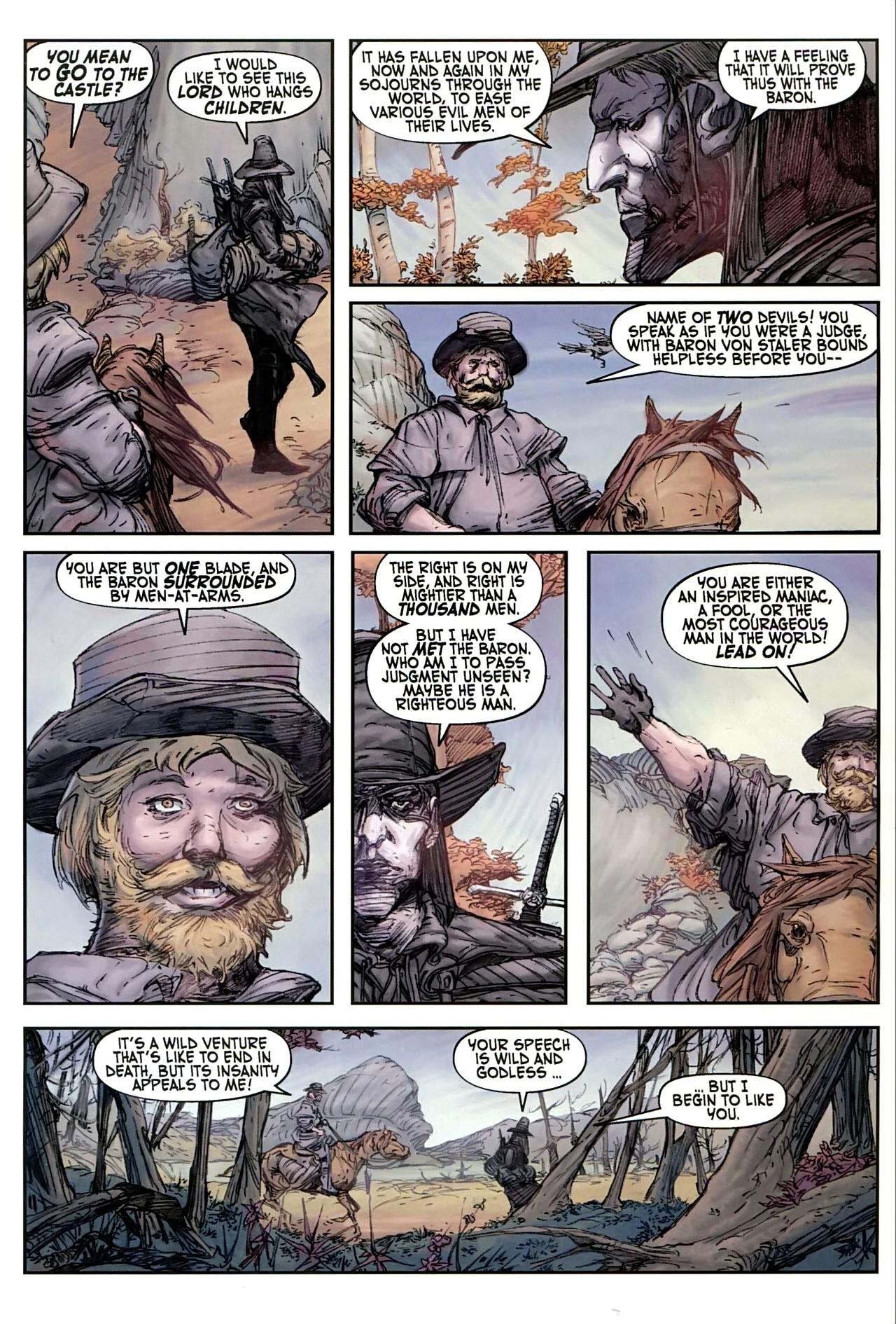 Read online Solomon Kane comic -  Issue #1 - 14