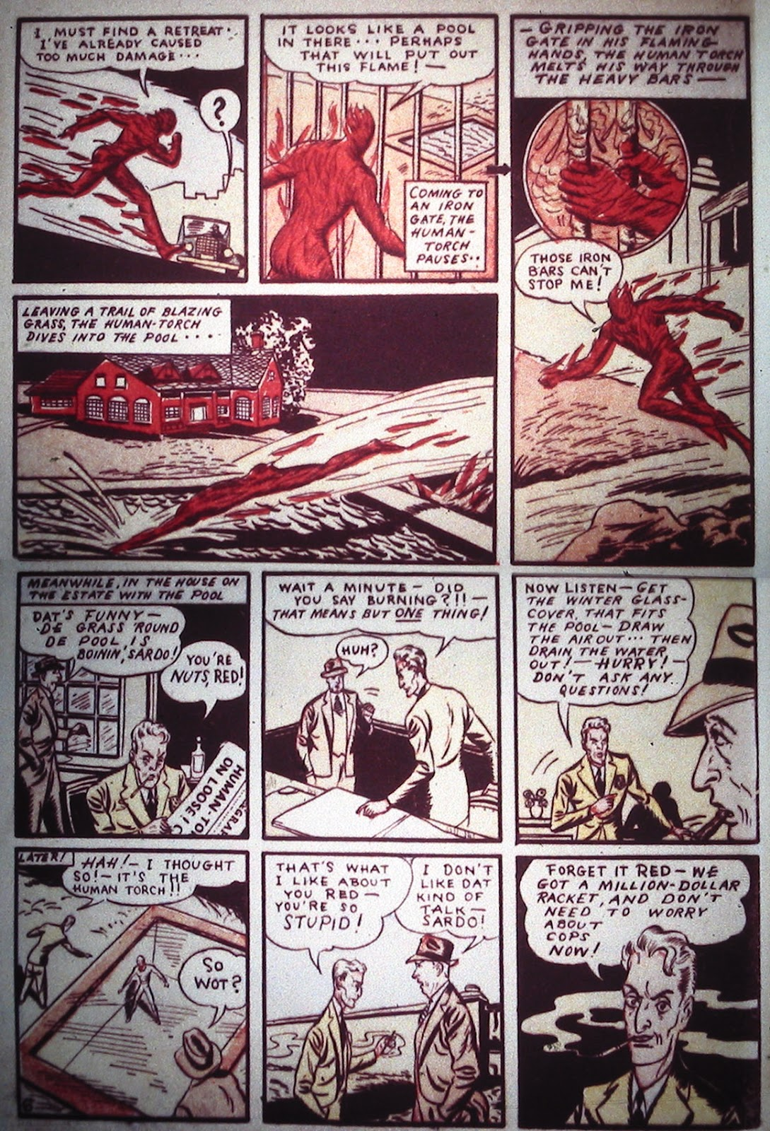 Marvel Comics (1939) issue Full - Page 8