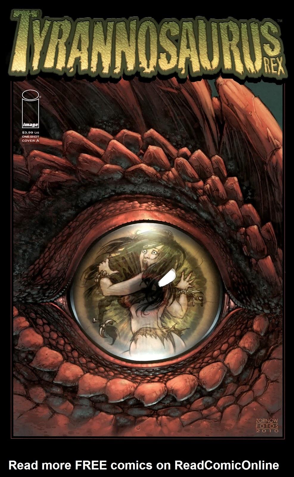 Read online Tyrannosaurus Rex comic -  Issue # Full - 1