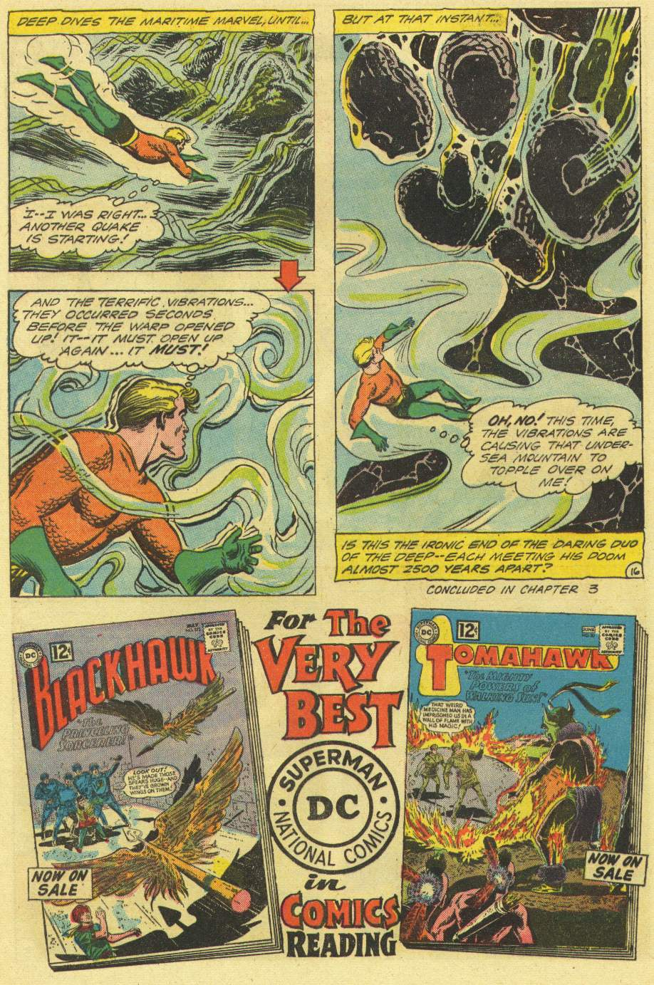 Read online Aquaman (1962) comic -  Issue #3 - 20