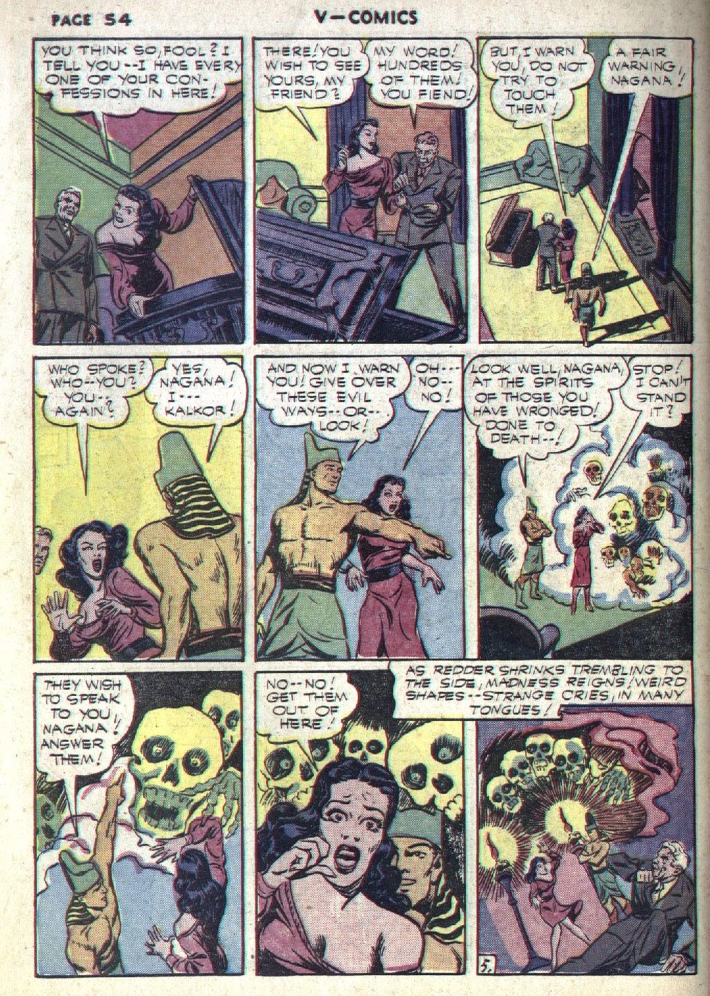 Read online V...- Comics comic -  Issue #1 - 55