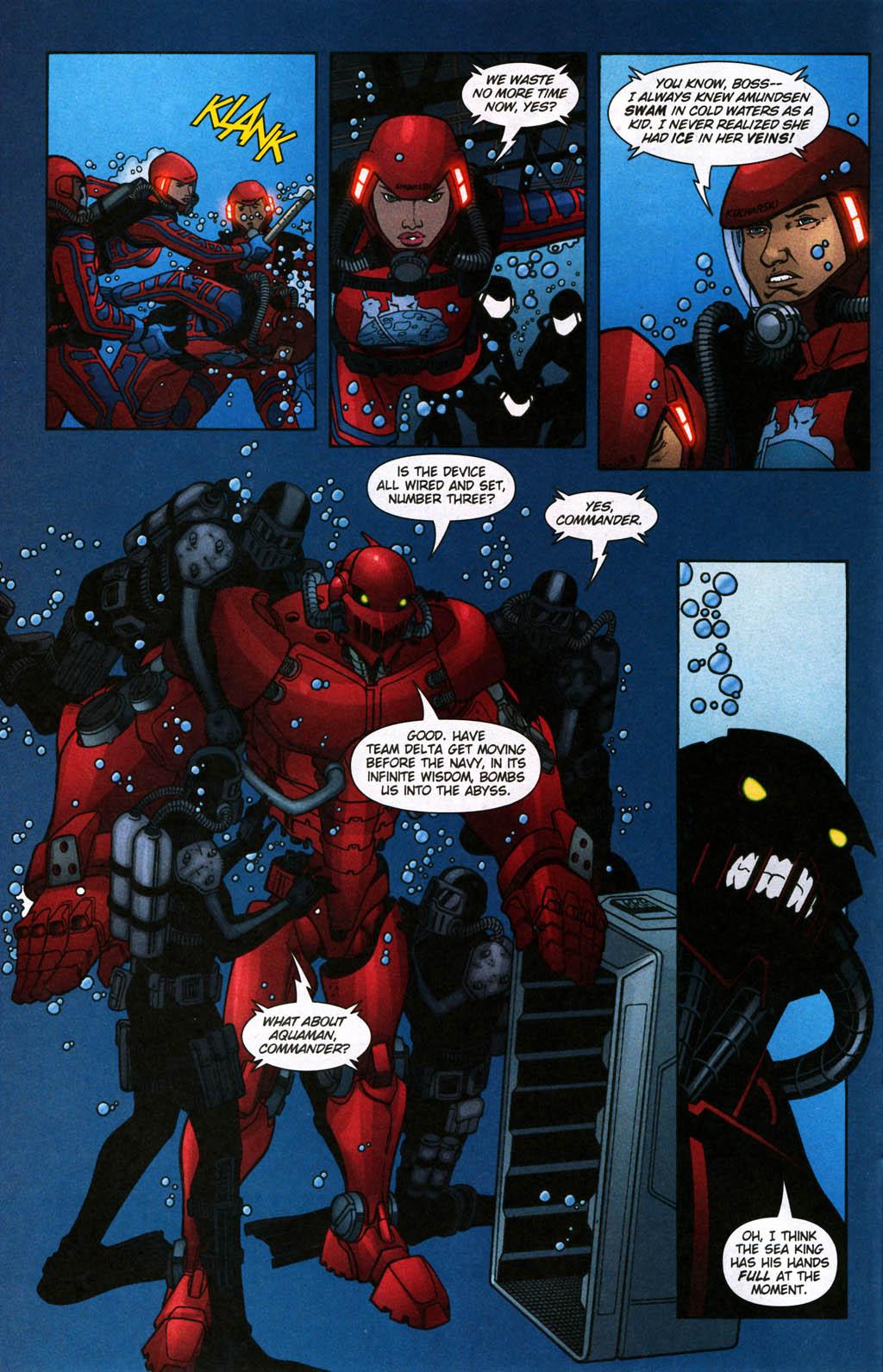 Read online Aquaman (2003) comic -  Issue #24 - 8