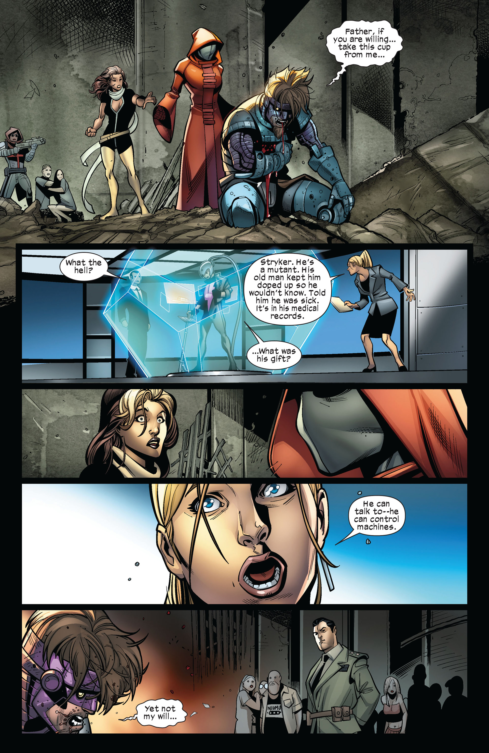 Read online Ultimate Comics X-Men comic -  Issue #5 - 22
