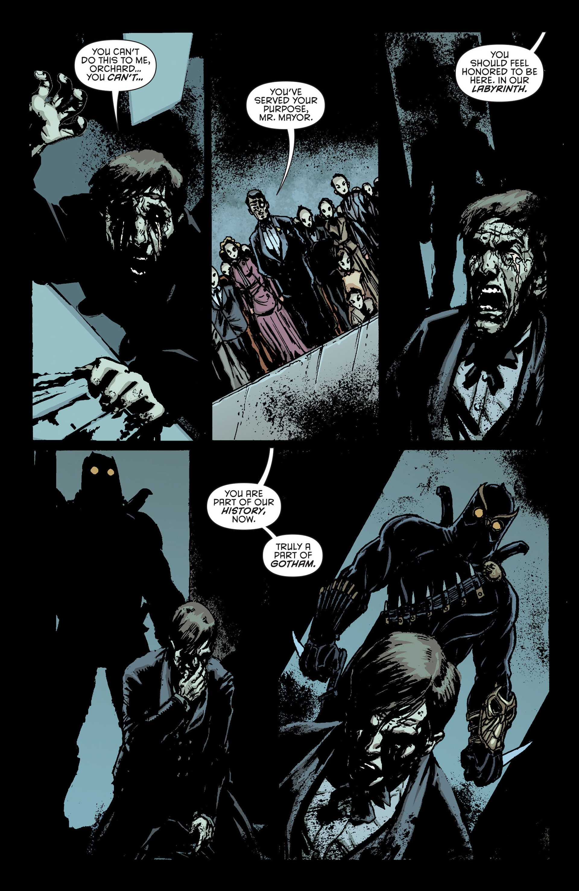 Read online Batman and Robin (2011) comic -  Issue #23.2 - 10