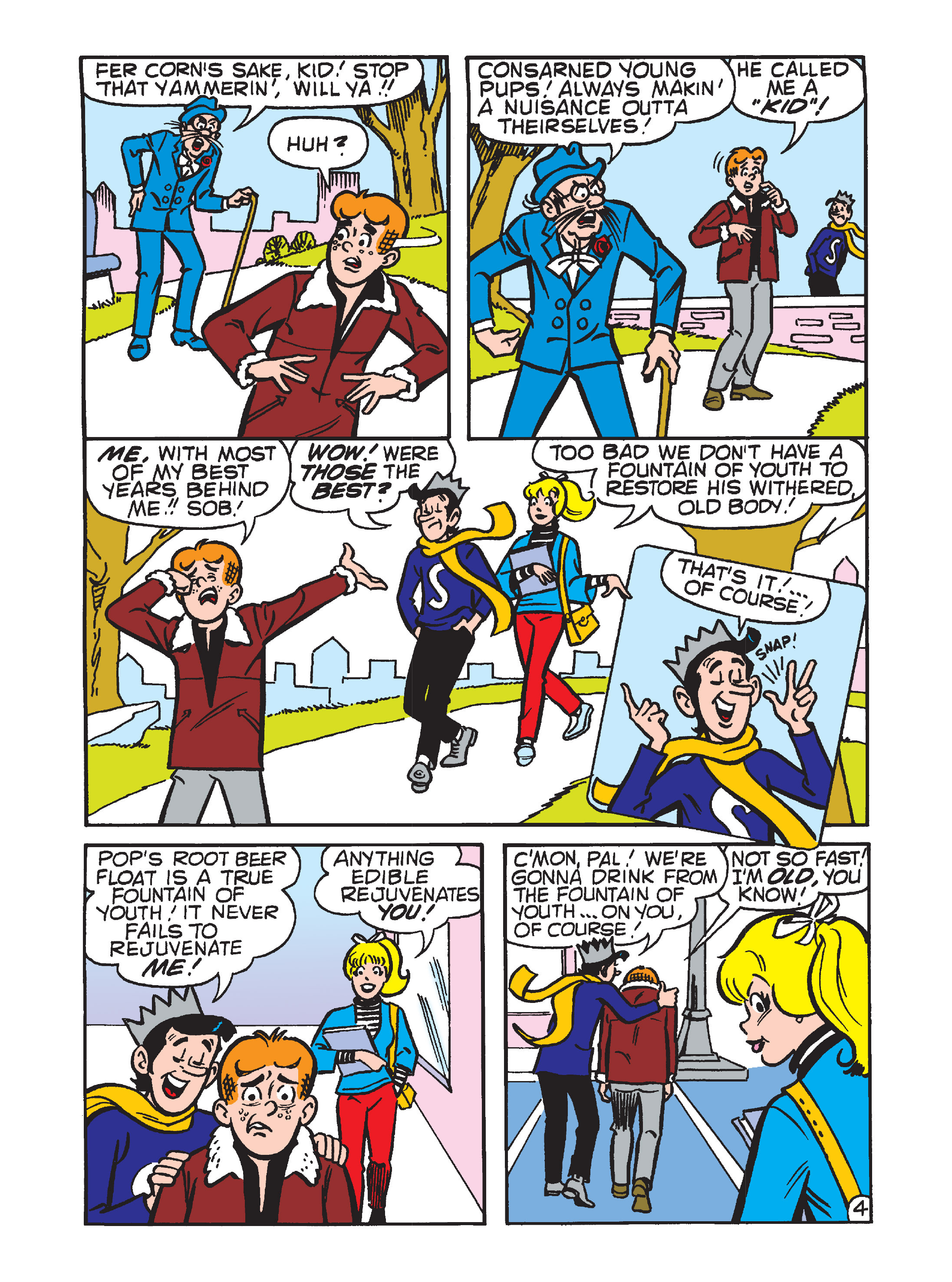 Read online Archie's Funhouse Double Digest comic -  Issue #12 - 27