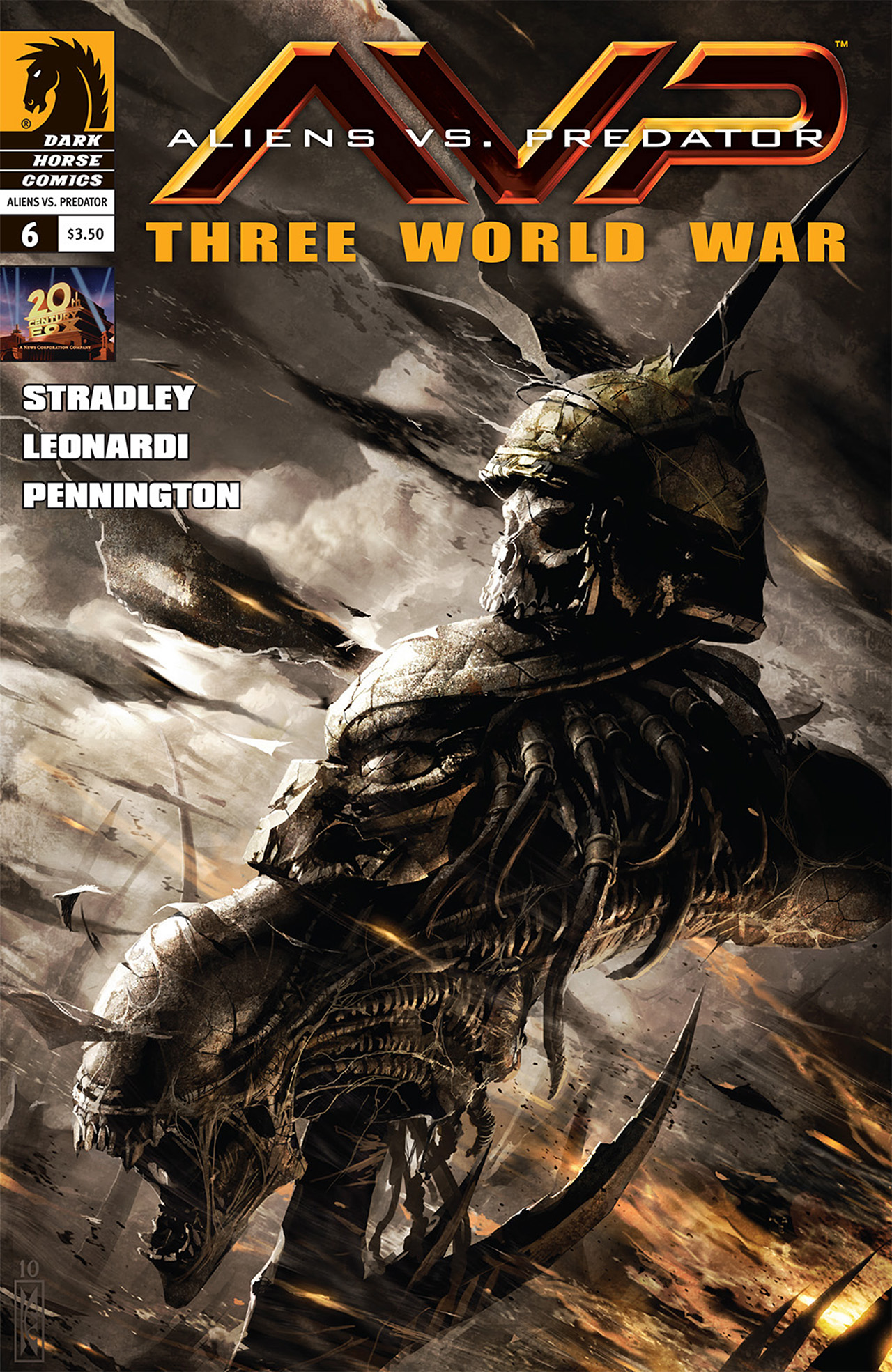 Aliens vs. Predator: Three World War 6 Page 1