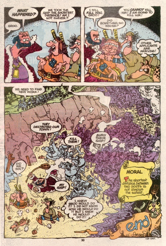 Read online Sergio Aragonés Groo the Wanderer comic -  Issue #69 - 23