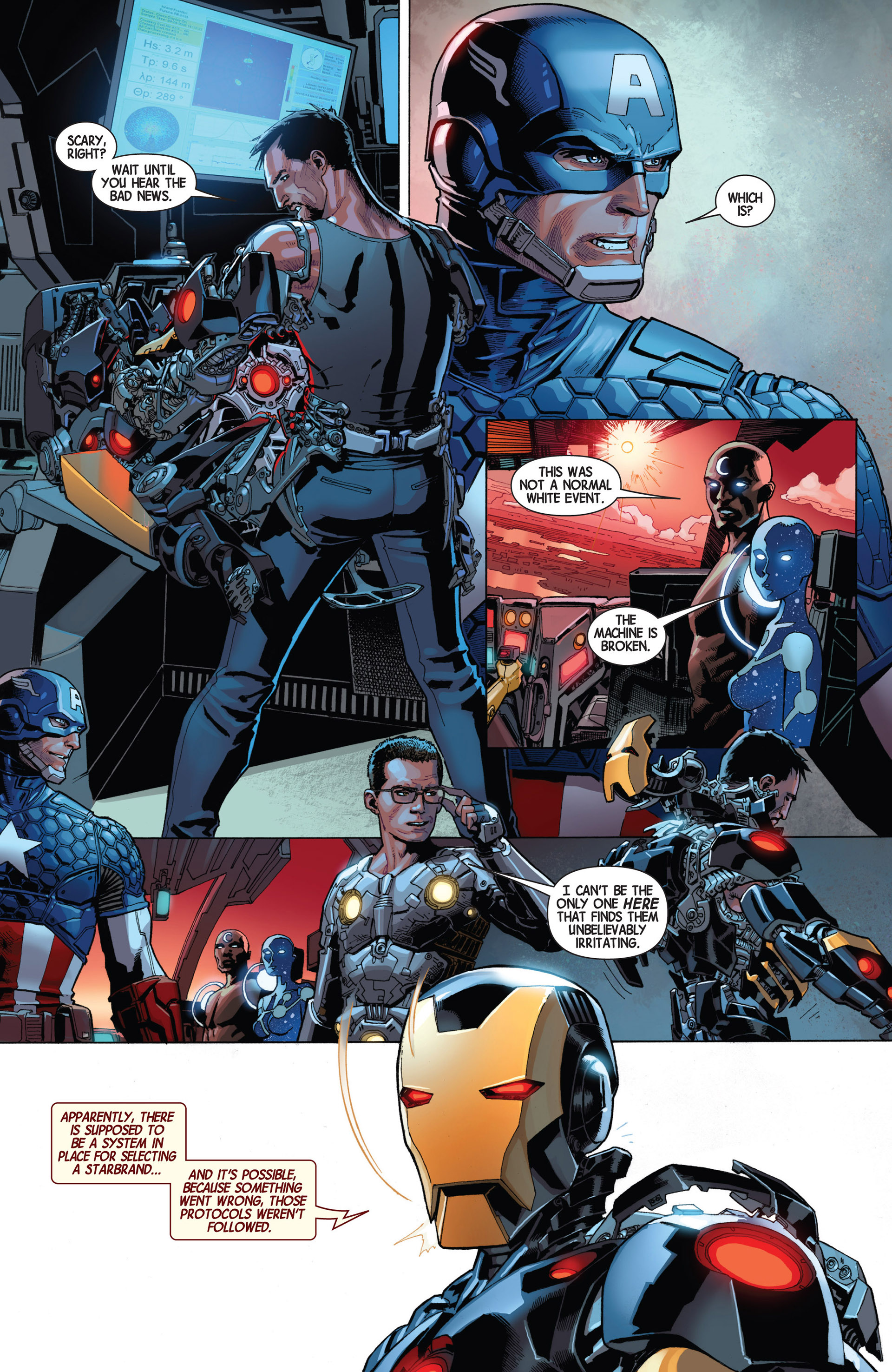 Read online Avengers (2013) comic -  Issue #7 - 21
