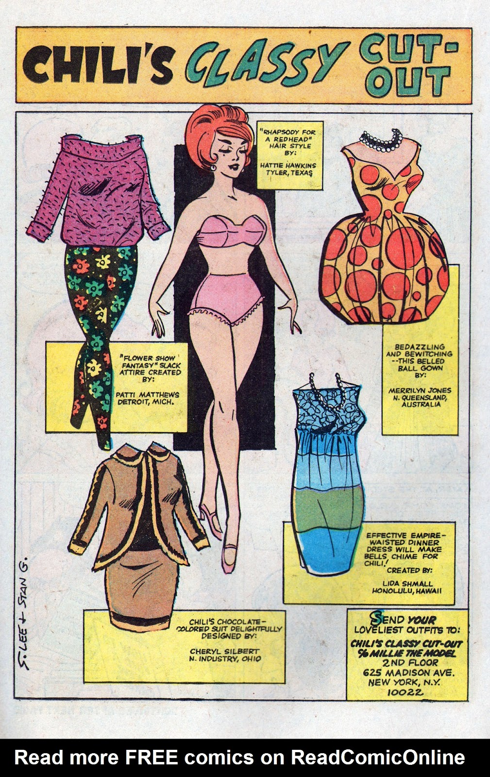 Read online Millie the Model comic -  Issue # Annual 6 - 22