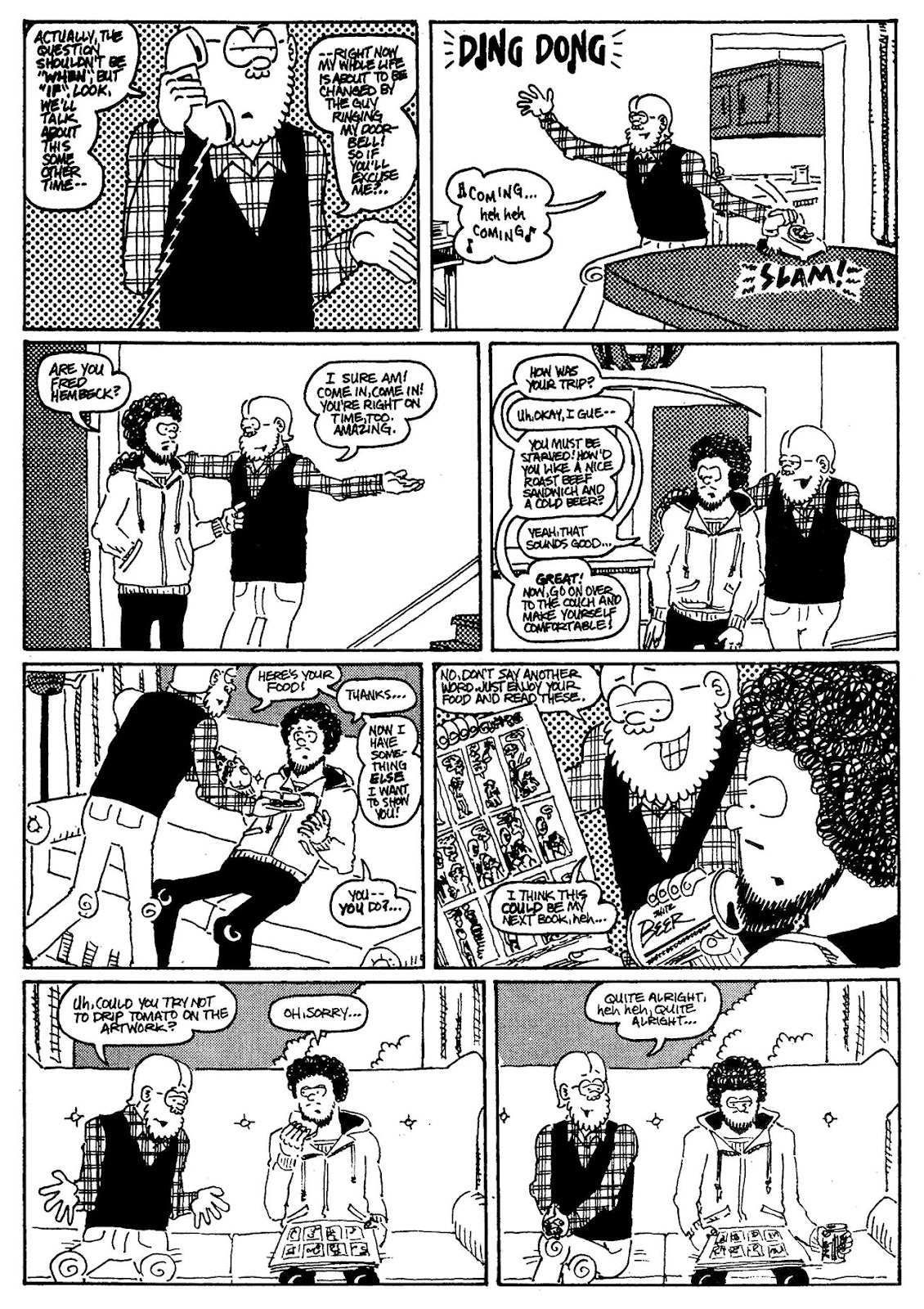 Read online The Nearly Complete Essential Hembeck Archives Omnibus comic -  Issue # TPB (Part 3) - 82