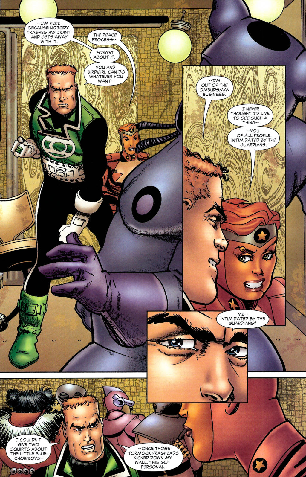 Read online Guy Gardner: Collateral Damage comic -  Issue #2 - 12