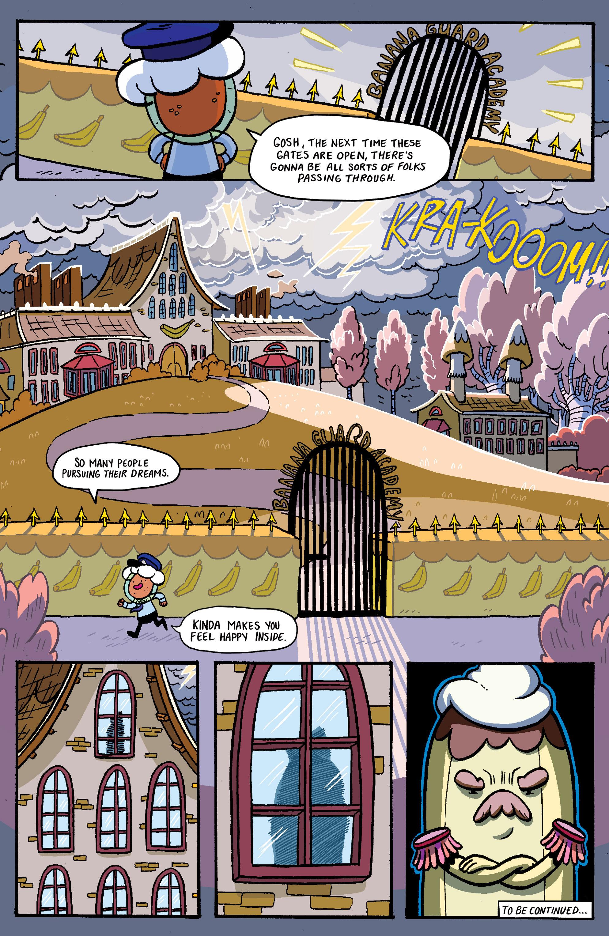 Read online Adventure Time: Banana Guard Academ comic -  Issue #1 - 20