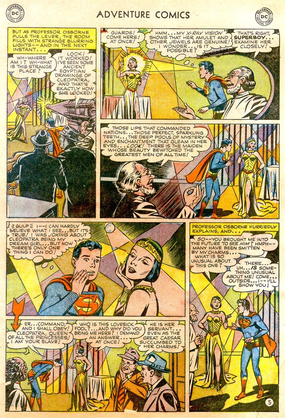 Read online Adventure Comics (1938) comic -  Issue #183 - 7