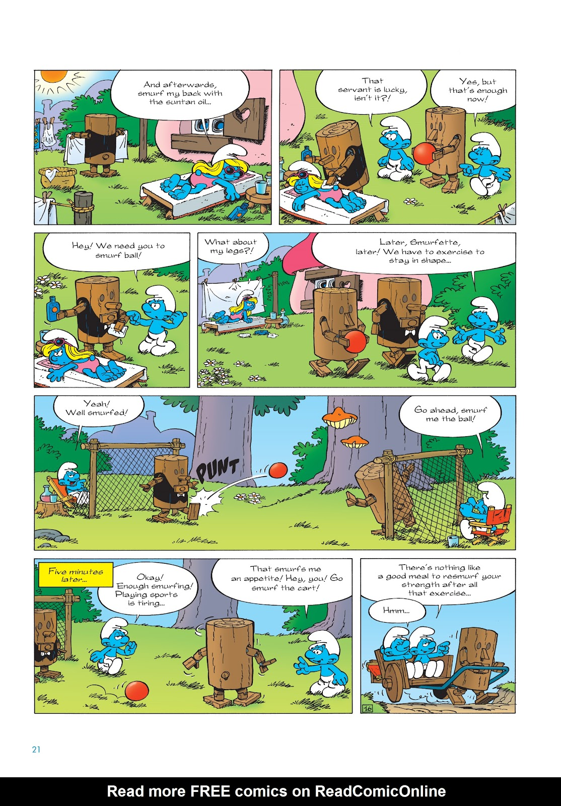 Read online The Smurfs comic -  Issue #23 - 21