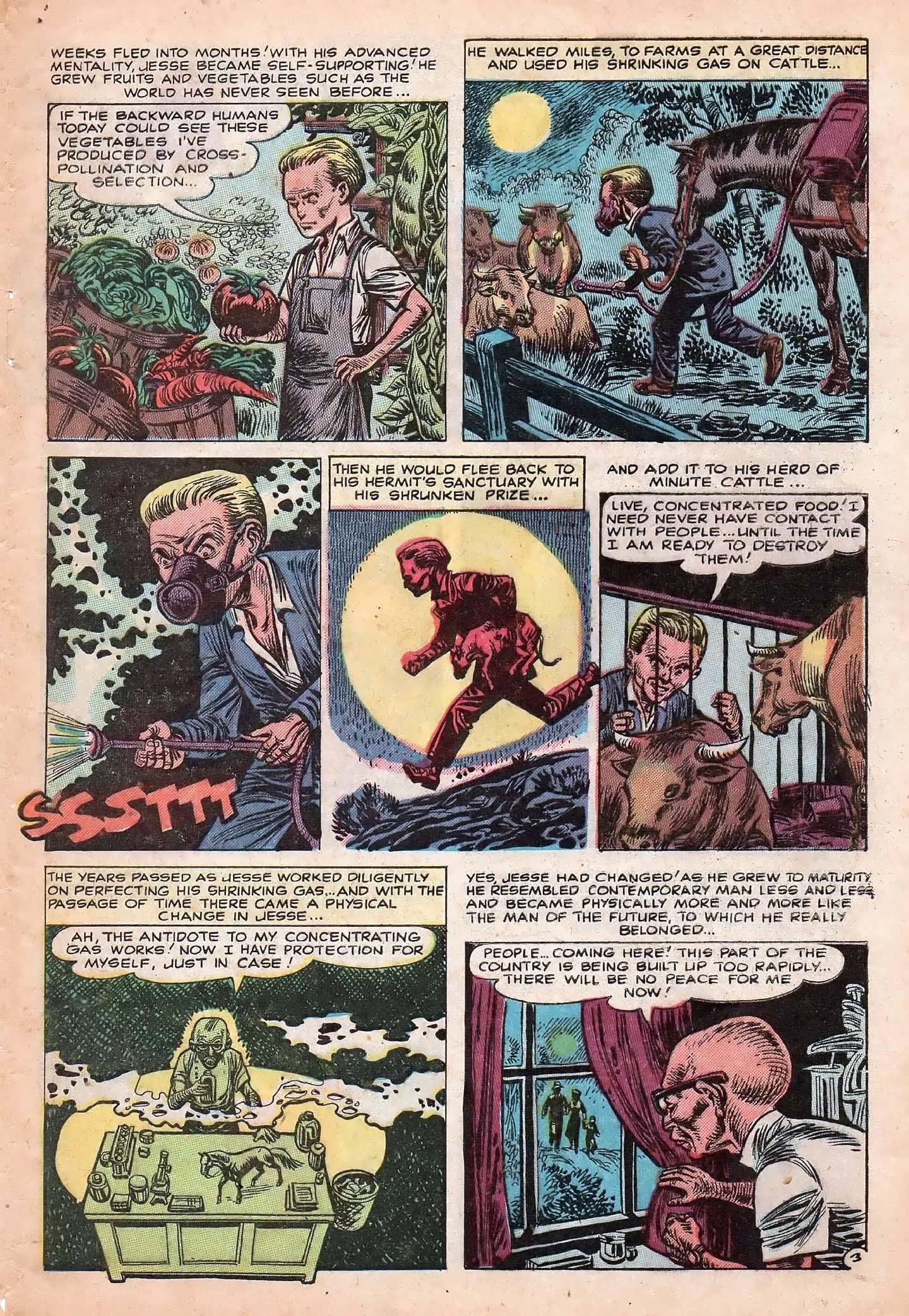 Read online Adventures into Weird Worlds comic -  Issue #20 - 5
