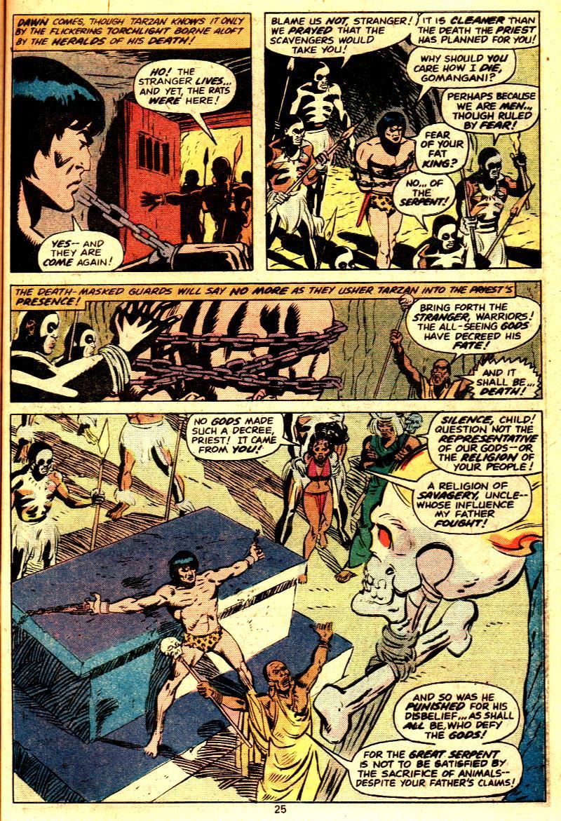 Read online Tarzan (1977) comic -  Issue # _Annual 2 - 21
