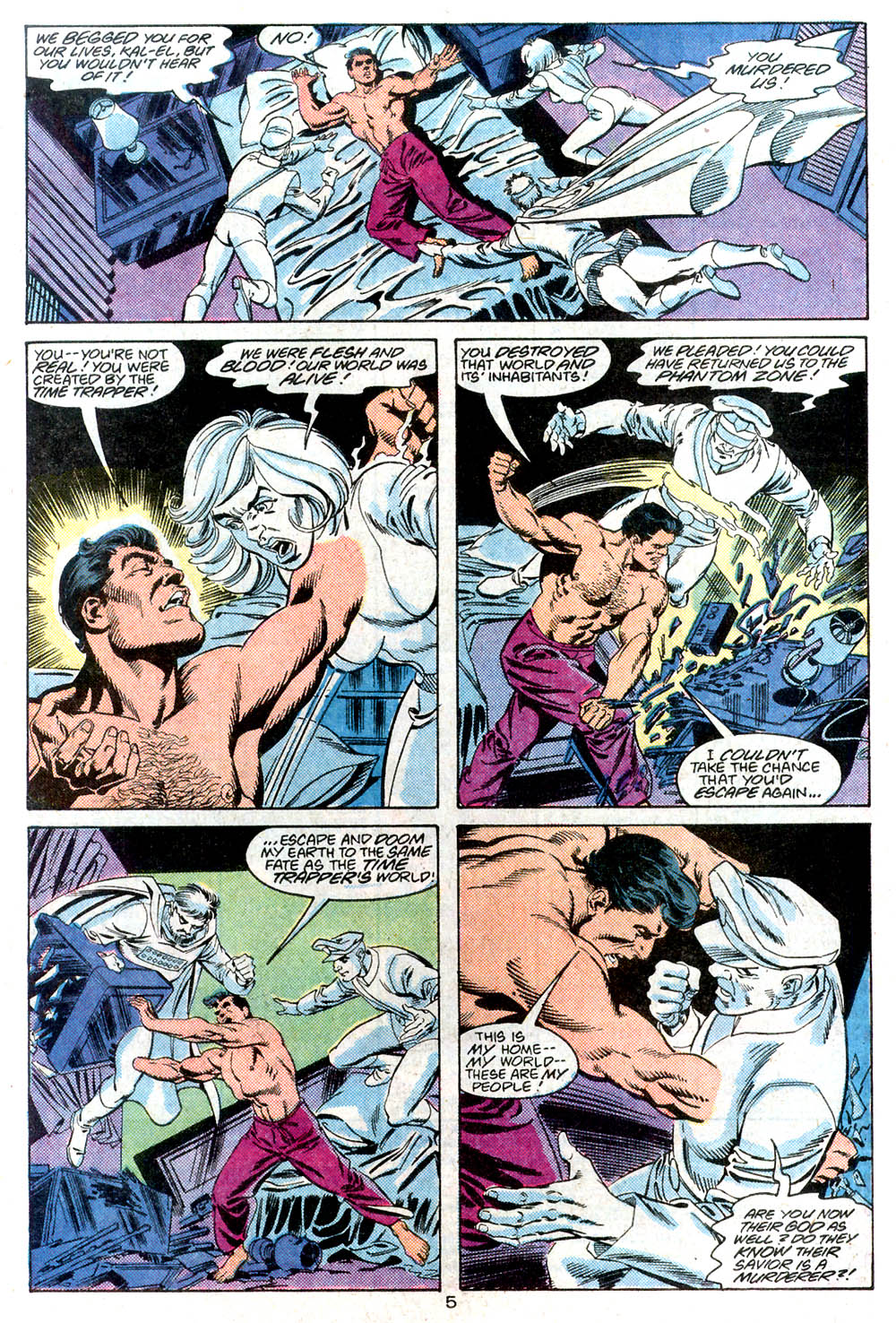 Read online Adventures of Superman (1987) comic -  Issue #446 - 6