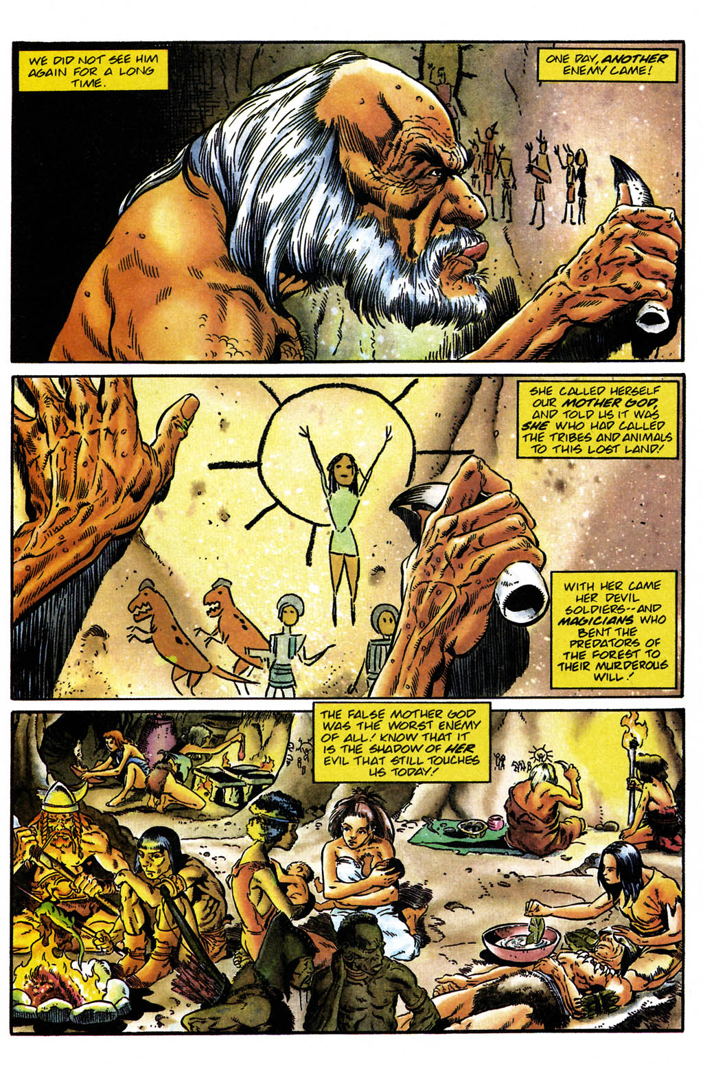 Read online Turok, Dinosaur Hunter (1993) comic -  Issue #24 - 7