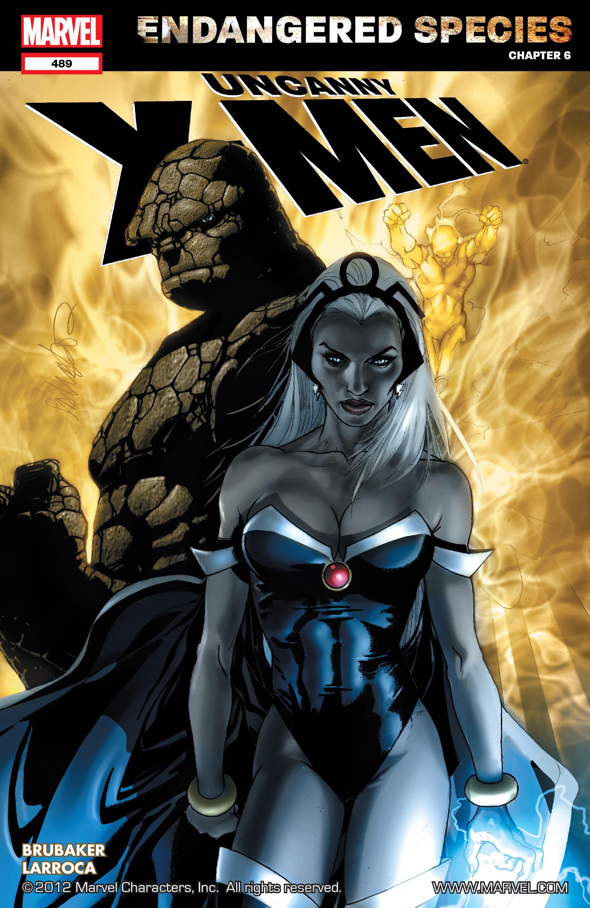 Read online Uncanny X-Men (1963) comic -  Issue #489 - 1