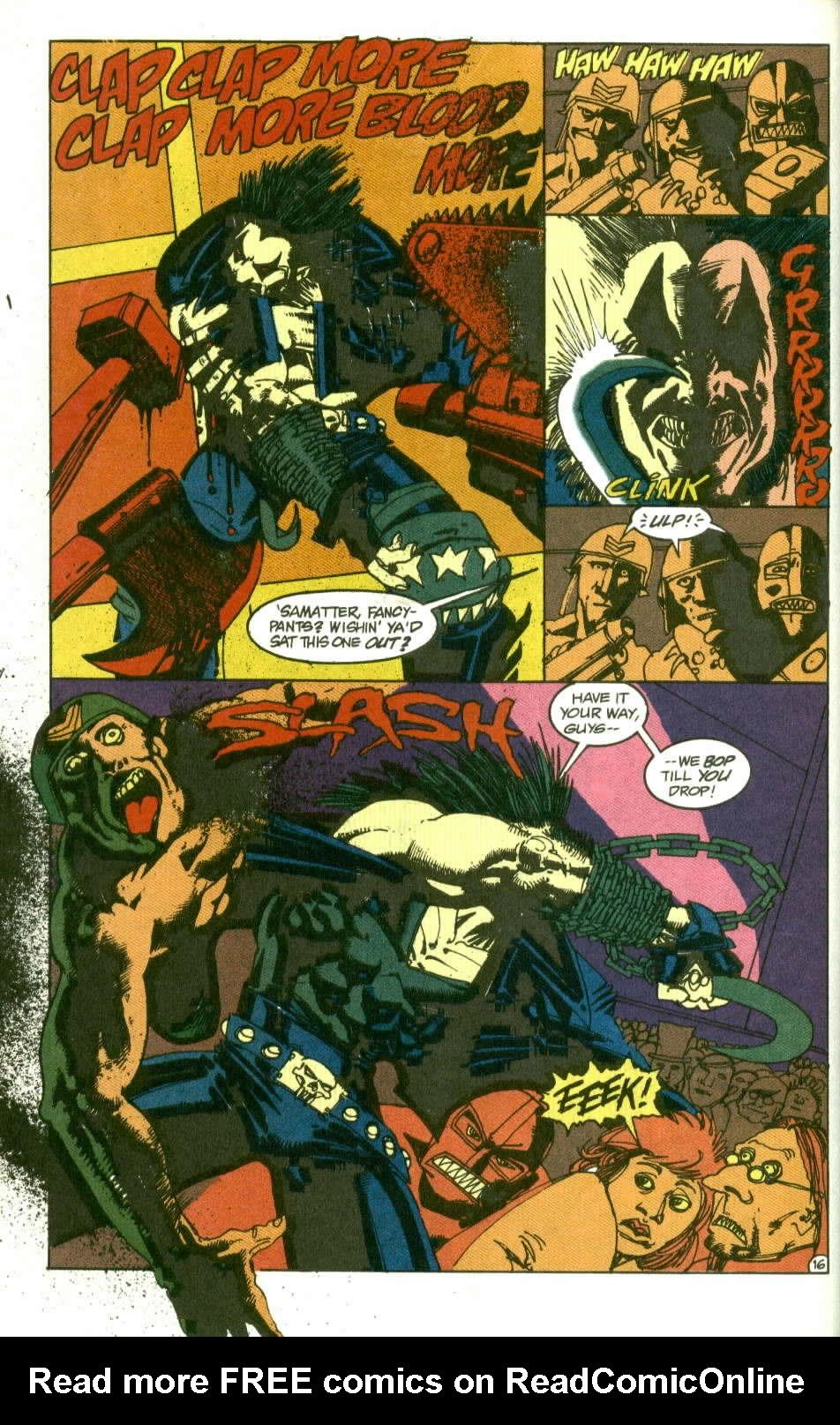 Read online Lobo (1990) comic -  Issue #2 - 17