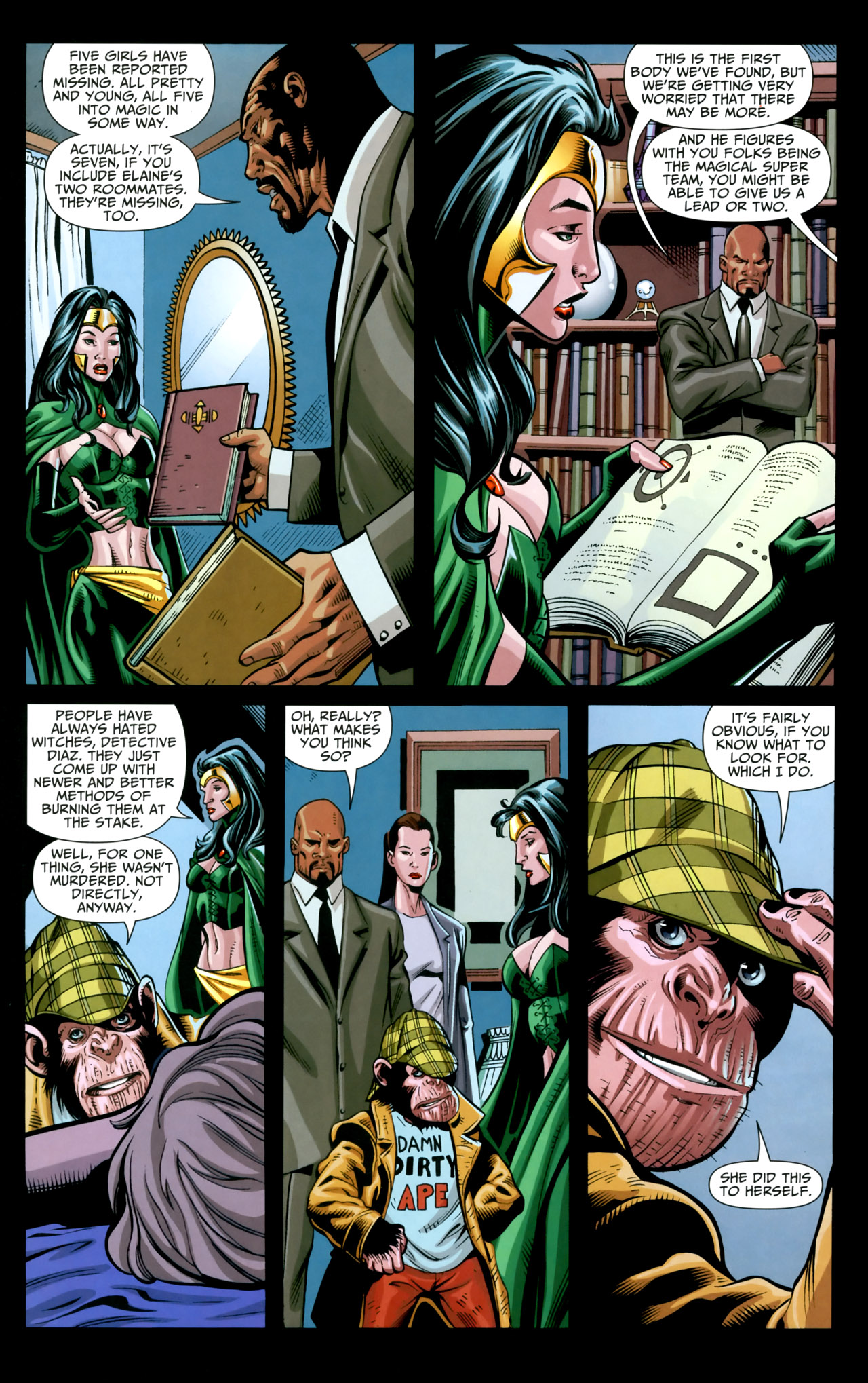 Read online Shadowpact comic -  Issue #18 - 13