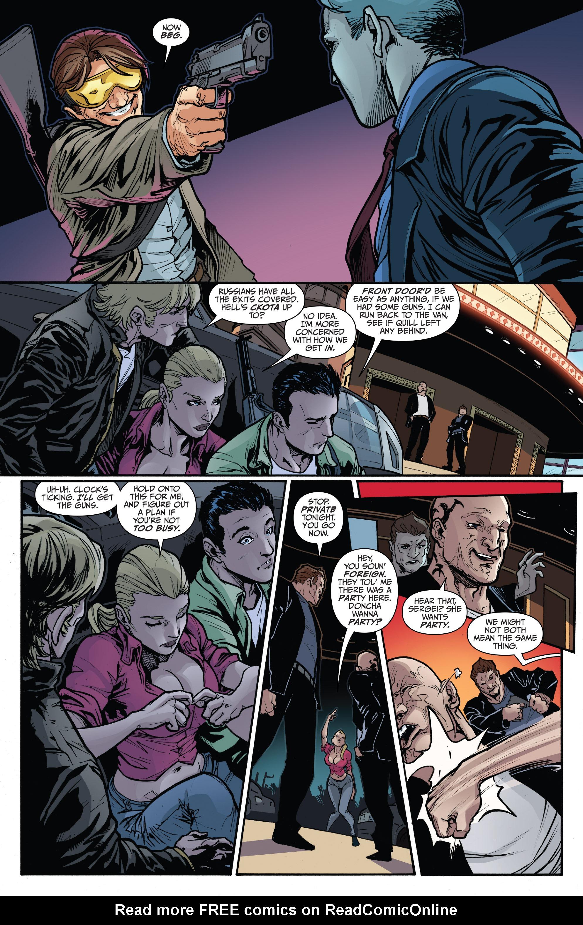 Read online 3 Guns comic -  Issue #6 - 8