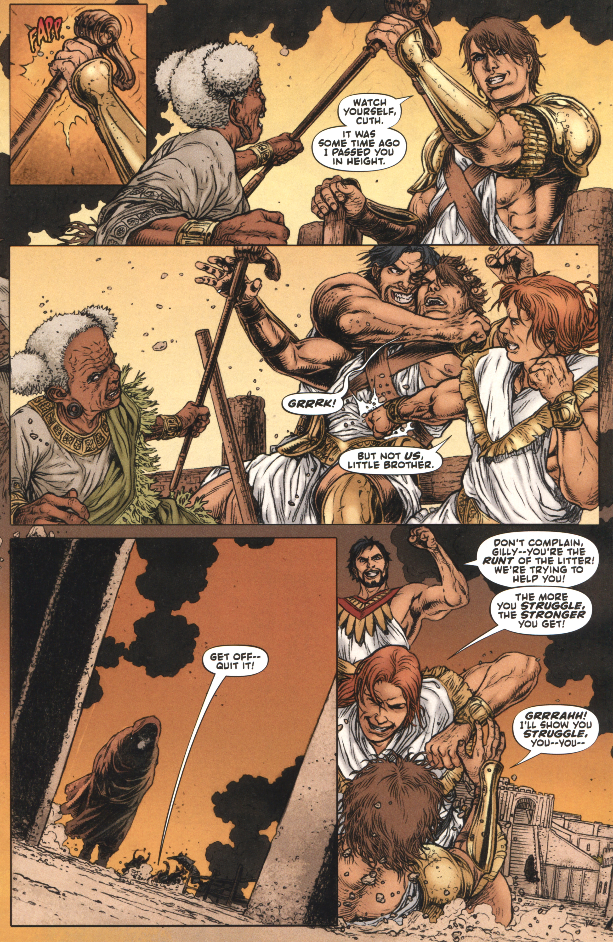 Read online Book of Death: Legends of the Geomancer comic -  Issue #4 - 12
