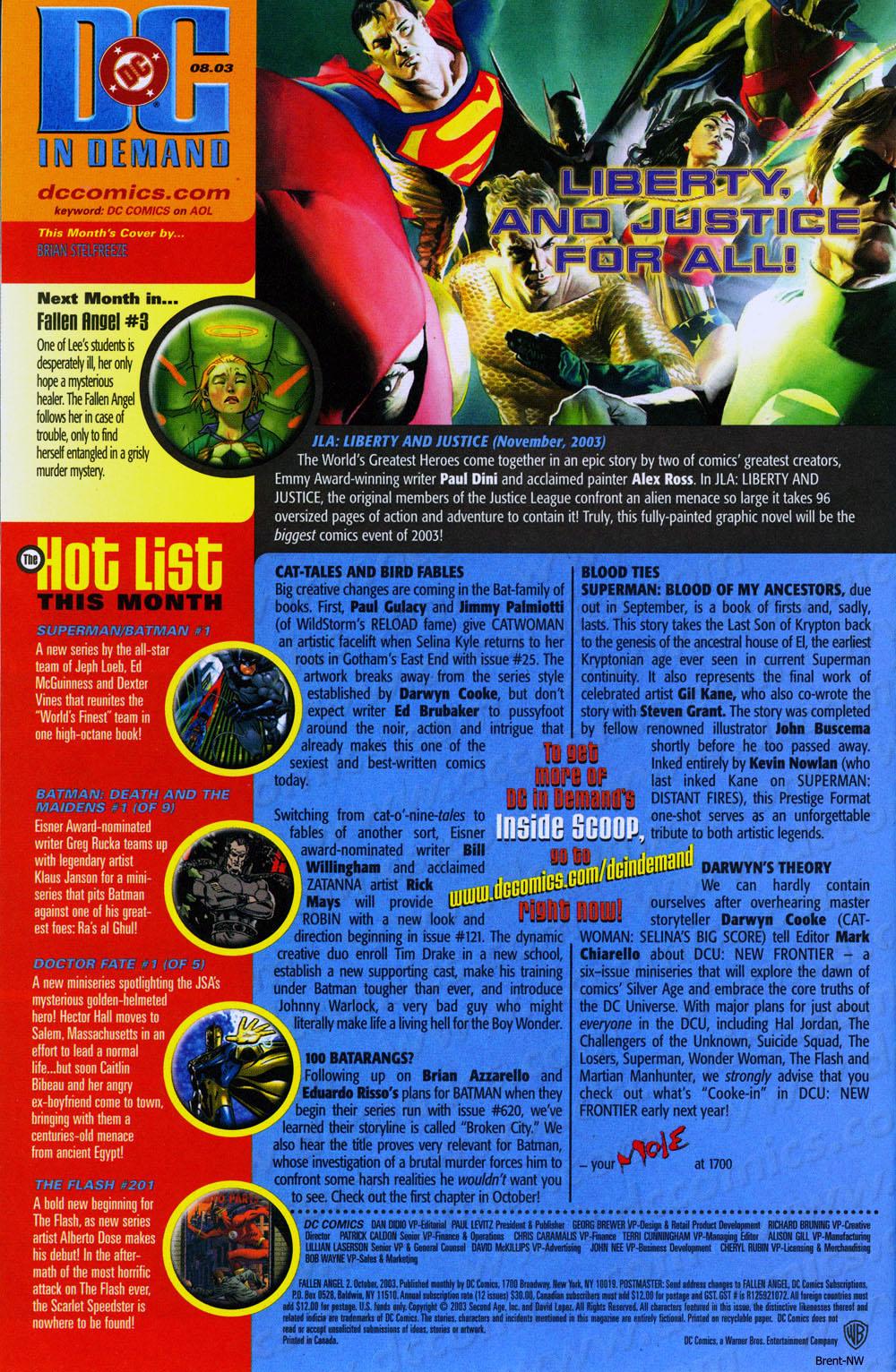Read online Fallen Angel (2003) comic -  Issue #2 - 24