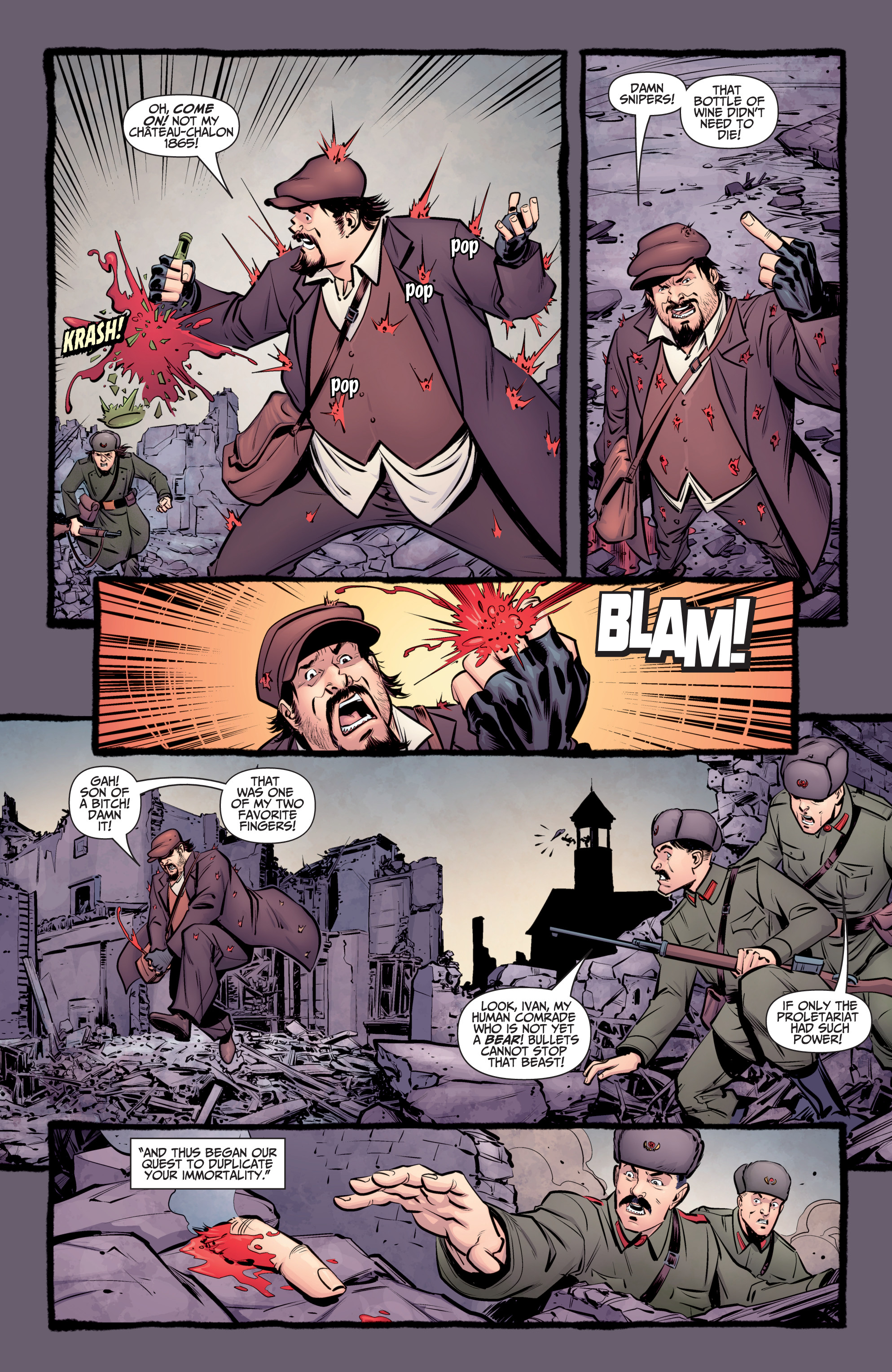 Read online A&A: The Adventures of Archer & Armstrong comic -  Issue #8 - 4