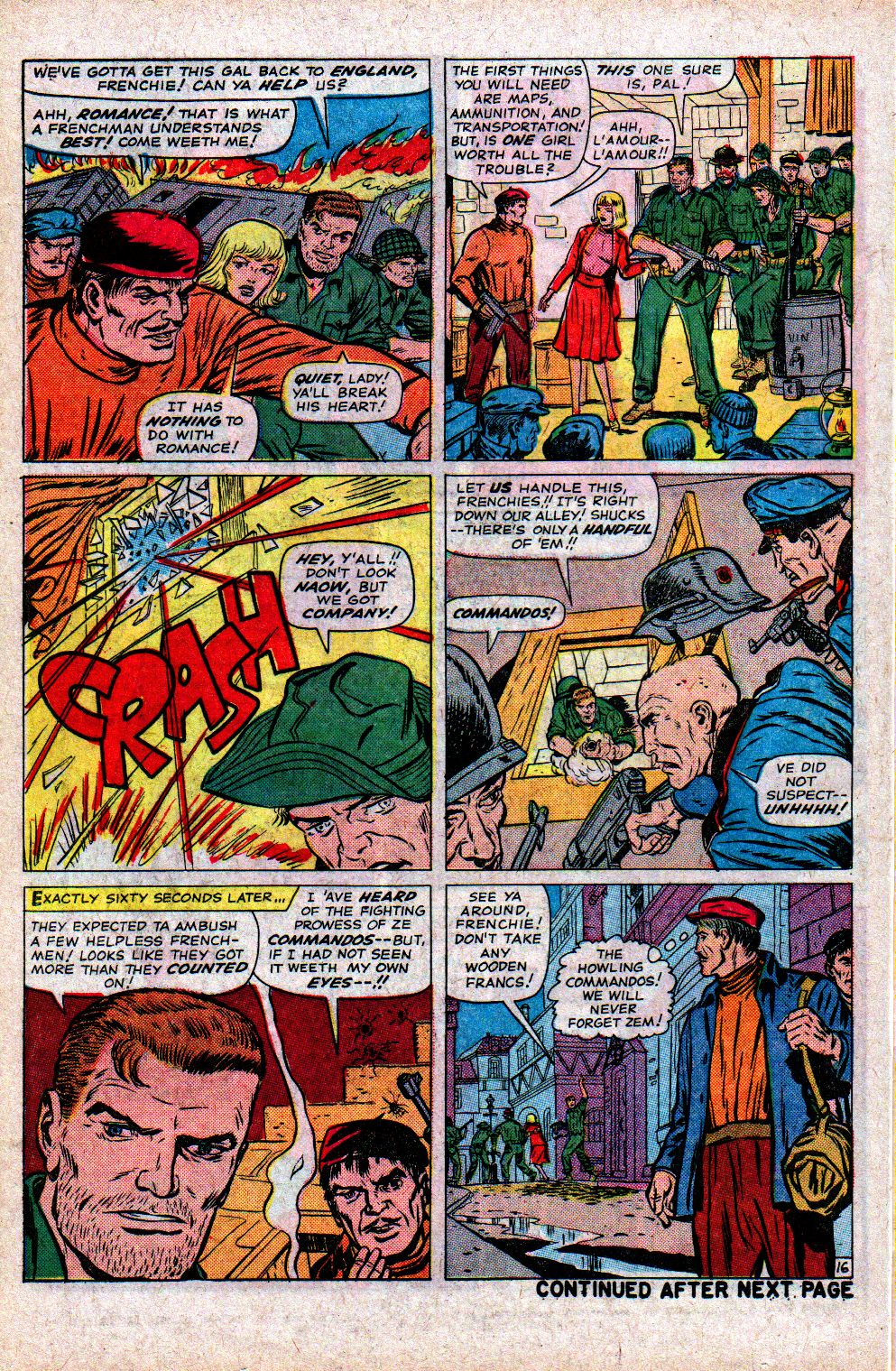 Read online Sgt. Fury comic -  Issue #21 - 22