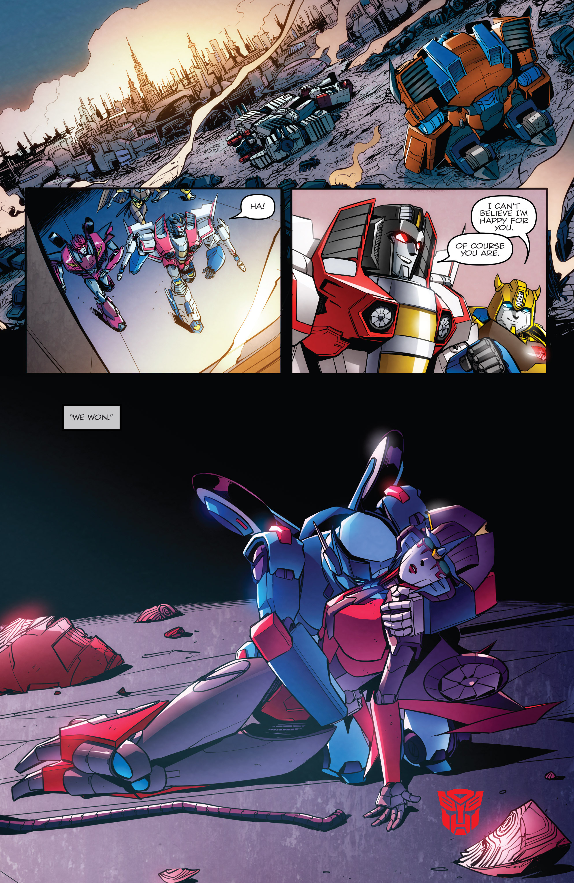 Read online Transformers: Till All Are One comic -  Issue #8 - 22