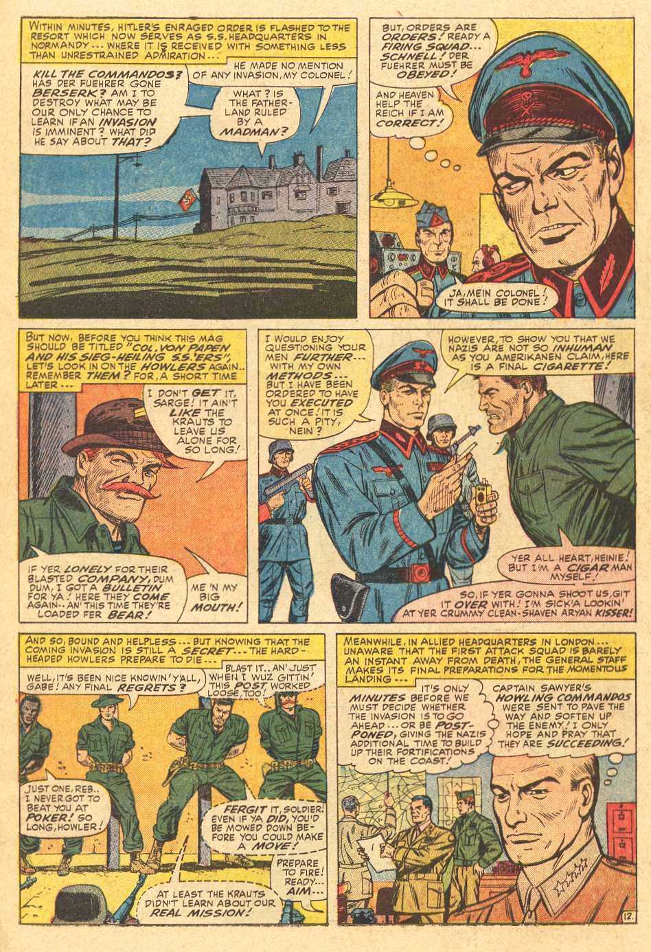 Read online Sgt. Fury comic -  Issue # _Special 2 - 14