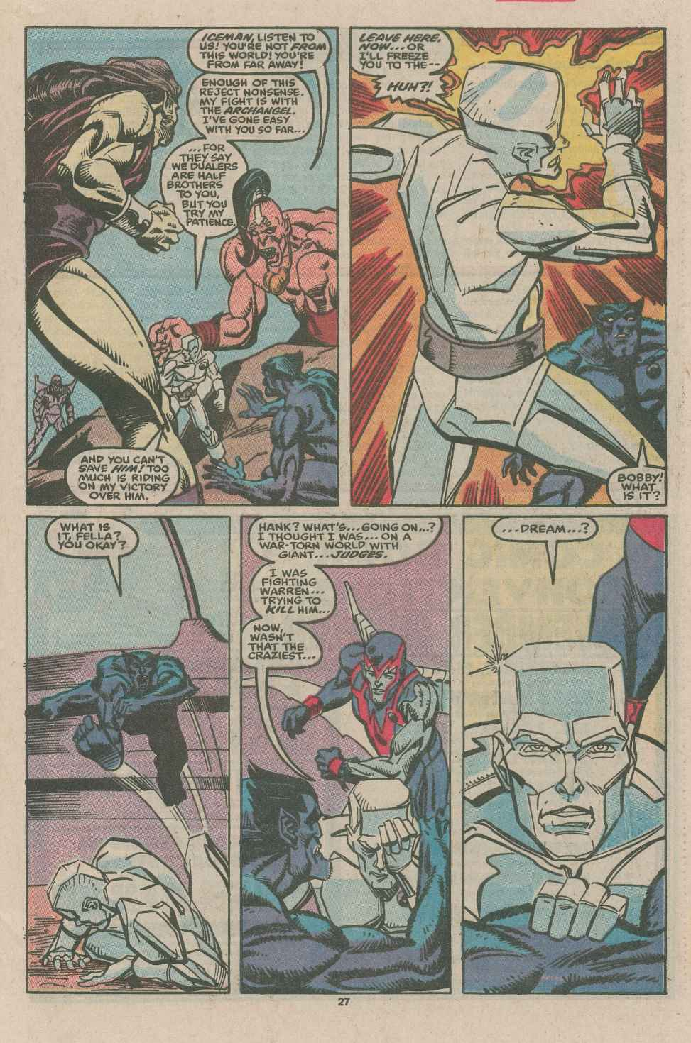 Read online X-Factor (1986) comic -  Issue #49 - 20
