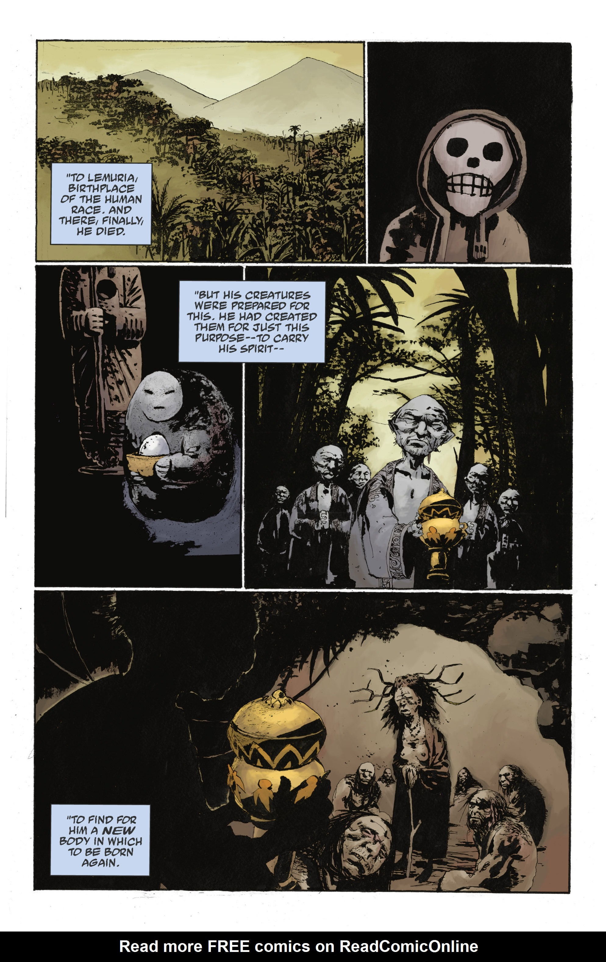 Read online Abe Sapien: The Drowning comic -  Issue #Abe Sapien: The Drowning _TPB - 102