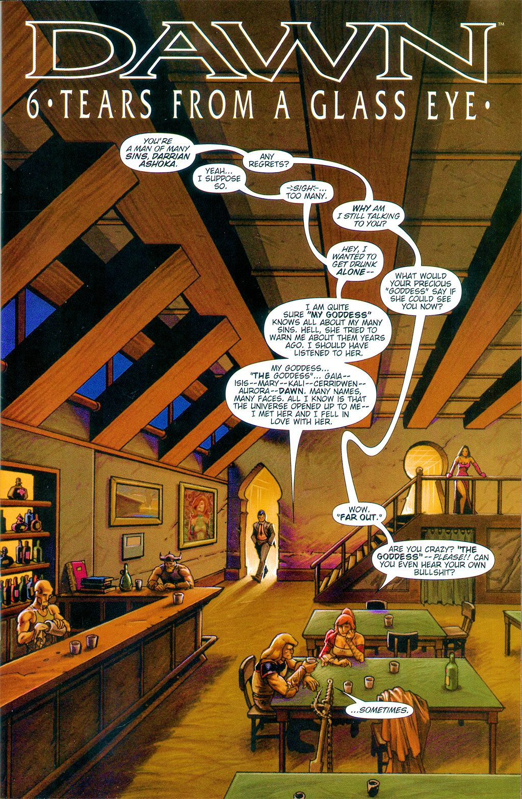 Read online Dawn: Three Tiers comic -  Issue #6 - 3