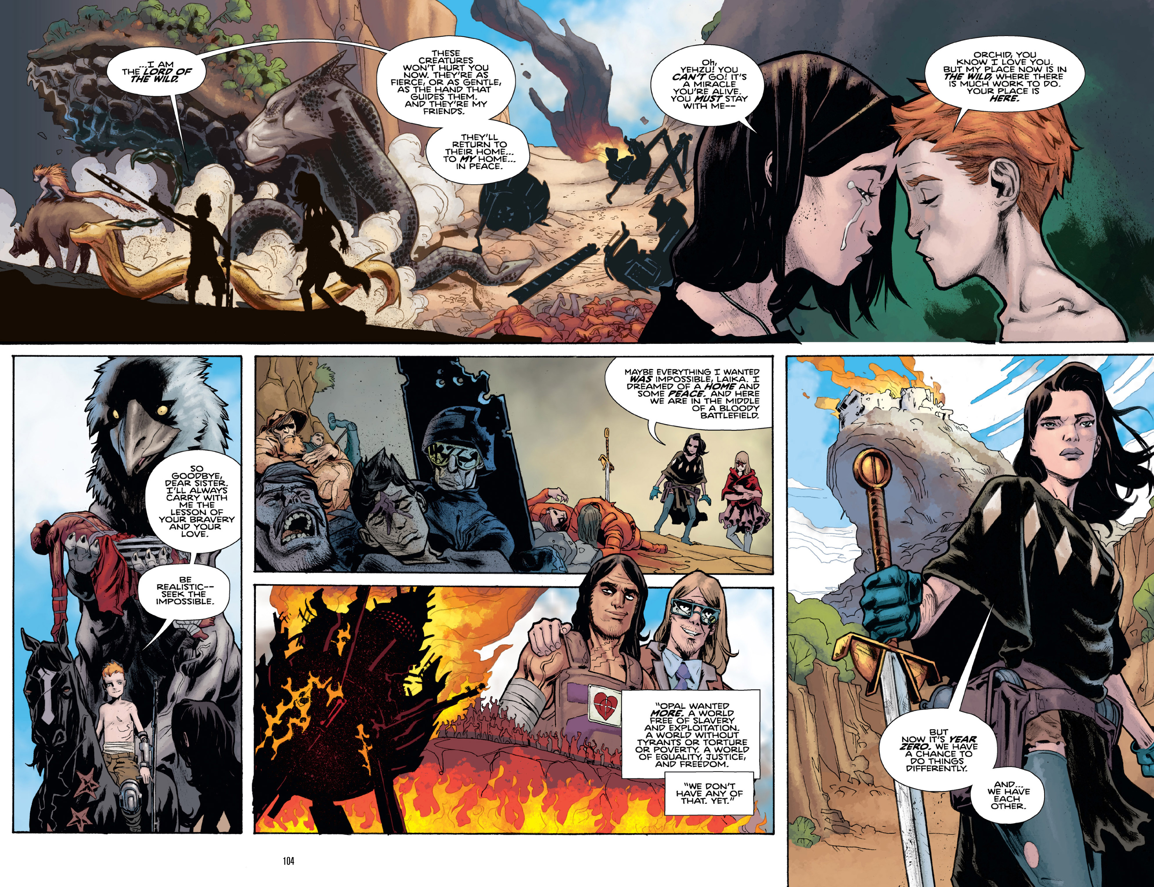 Read online Orchid comic -  Issue # TPB 3 - 102