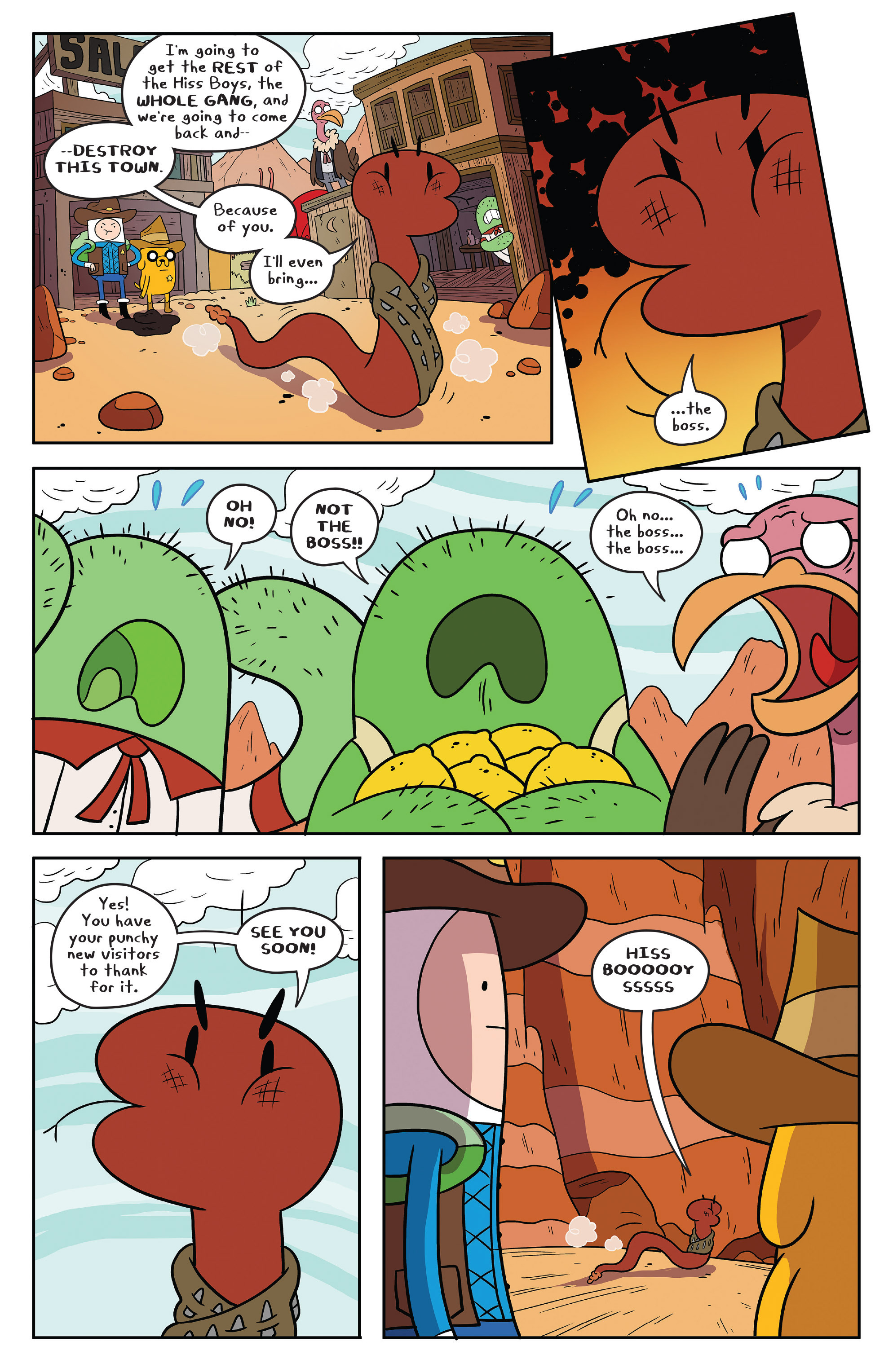 Read online Adventure Time comic -  Issue #54 - 12
